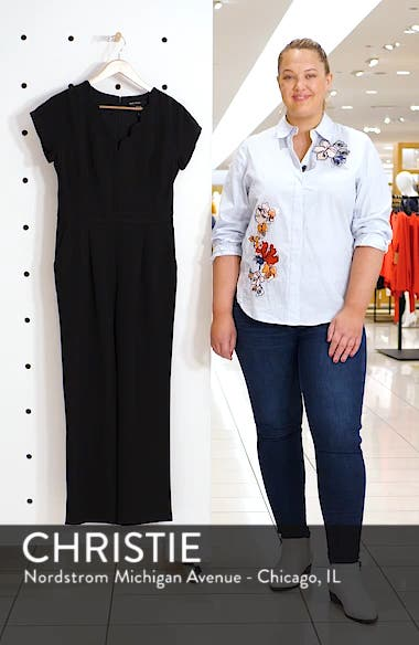 Crepe Jumpsuit, sales video thumbnail