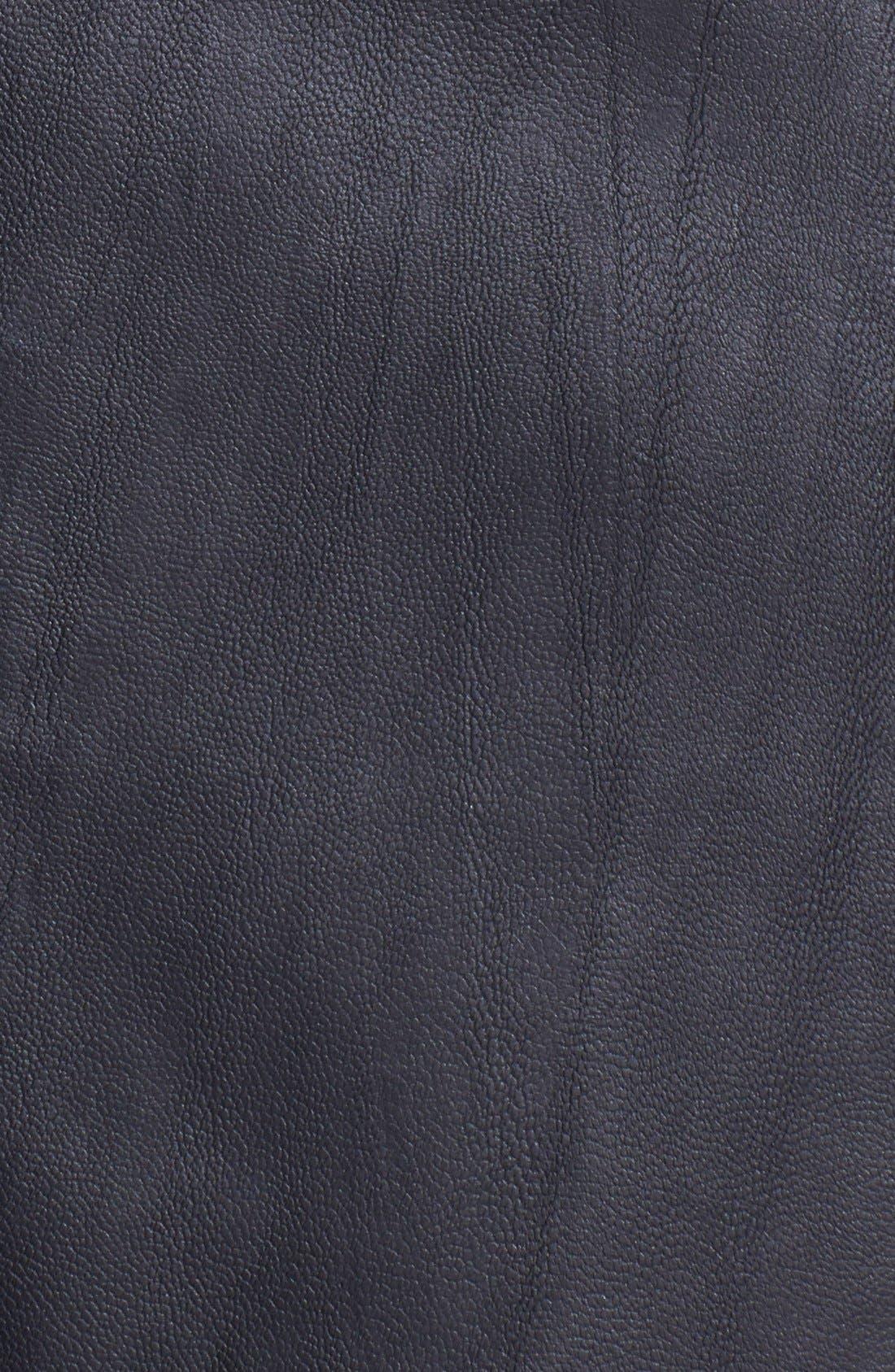 ASTR THE LABEL, ASTR Faux Leather Midi Skirt, Alternate thumbnail 2, color, 001