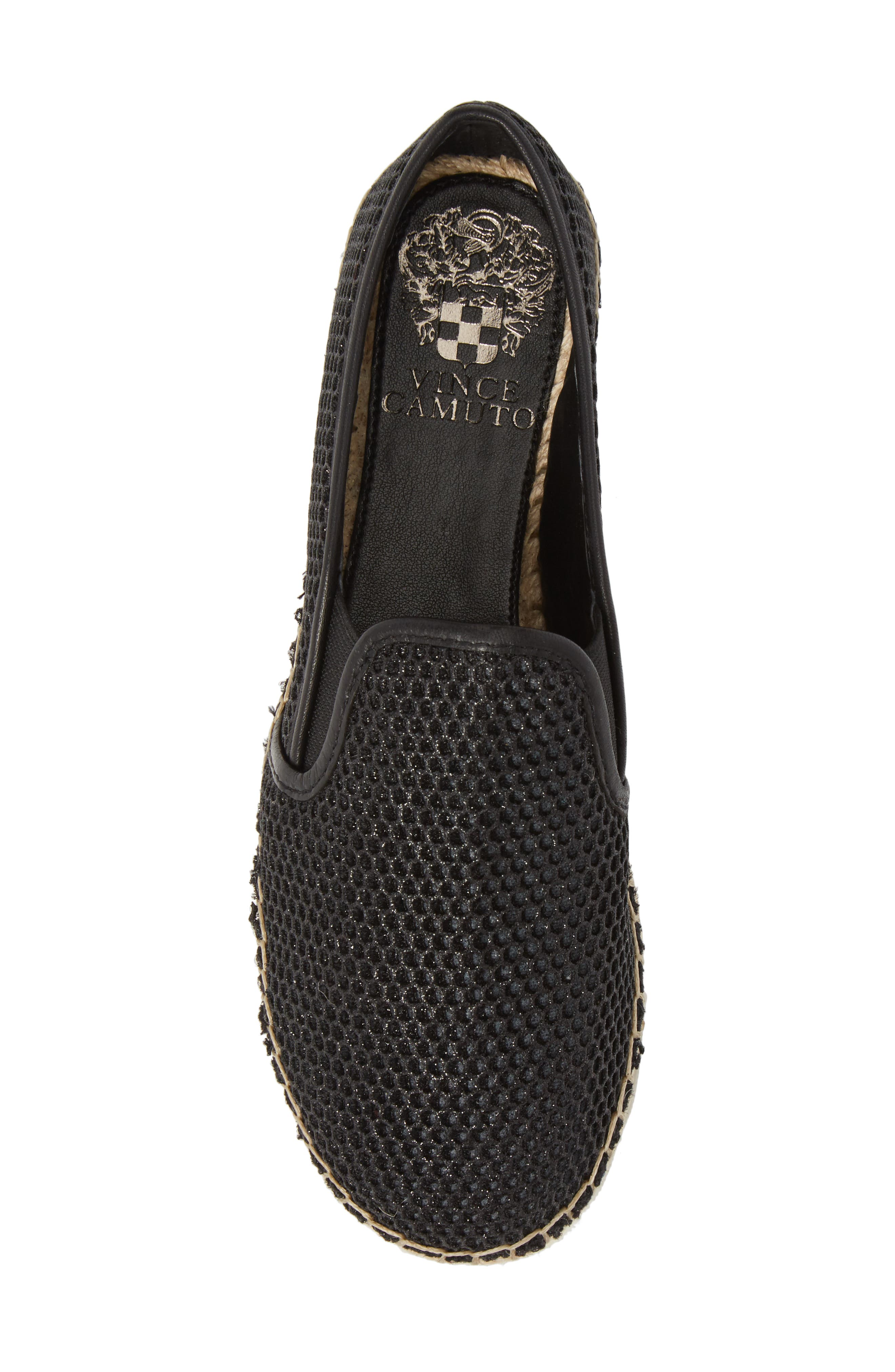 VINCE CAMUTO, Tambie Slip-On Sneaker, Alternate thumbnail 5, color, 001