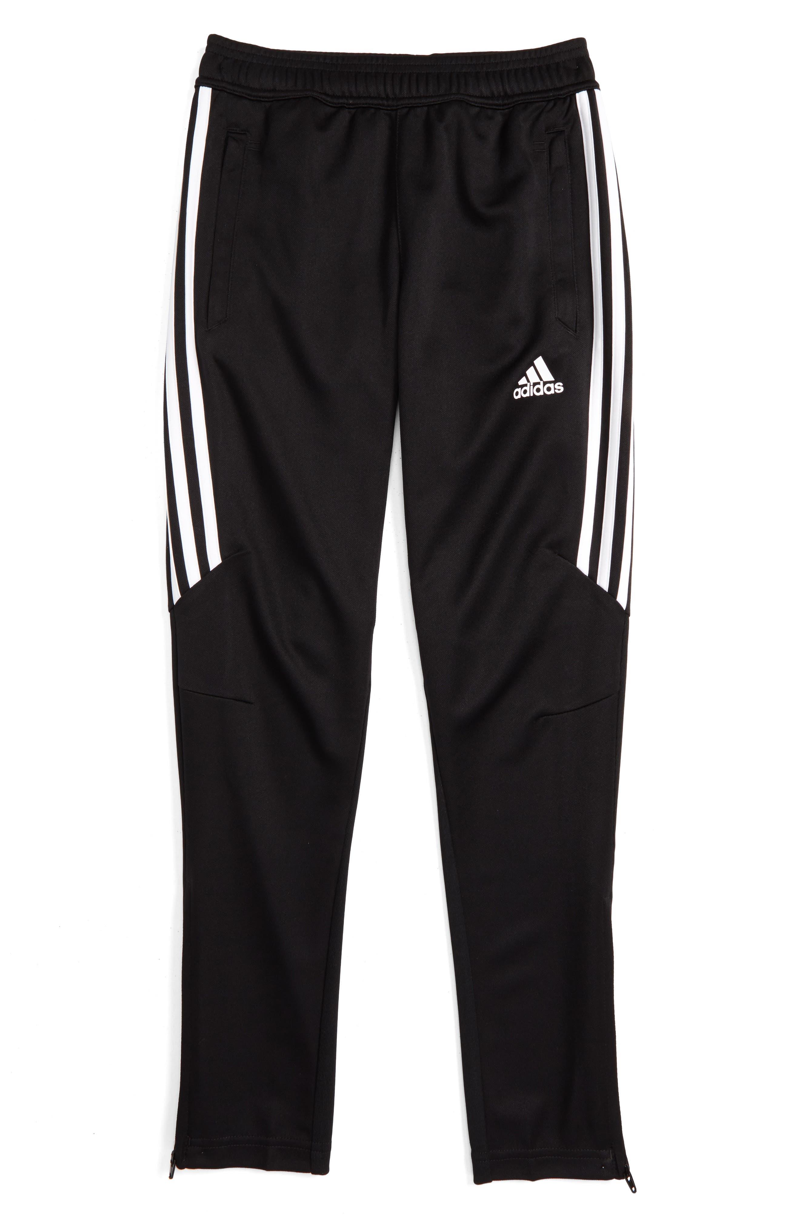 ADIDAS ORIGINALS, Tiro 17 Training Pants, Main thumbnail 1, color, BLACK/ WHITE/ WHITE