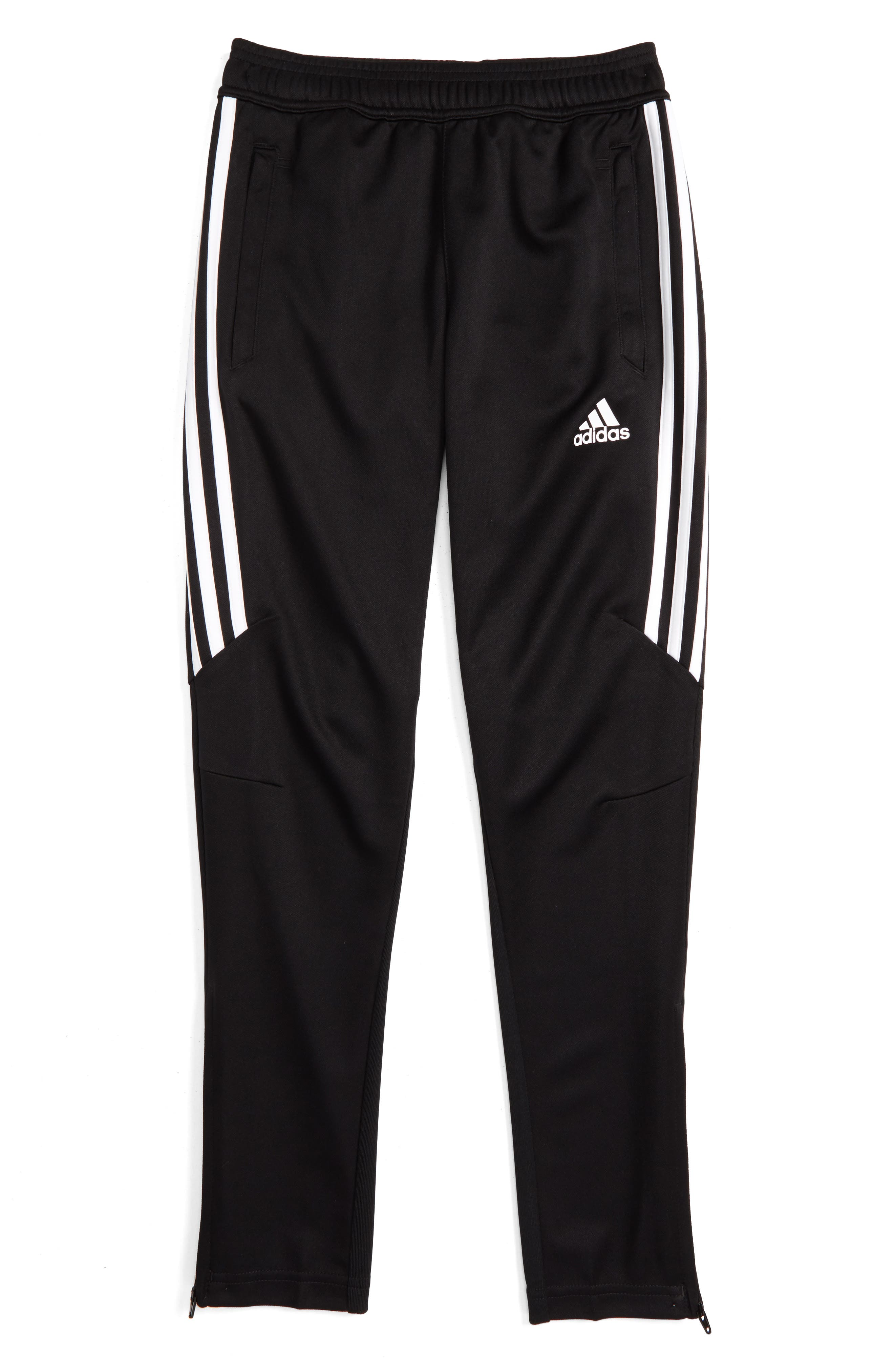 ADIDAS ORIGINALS Tiro 17 Training Pants, Main, color, BLACK/ WHITE/ WHITE