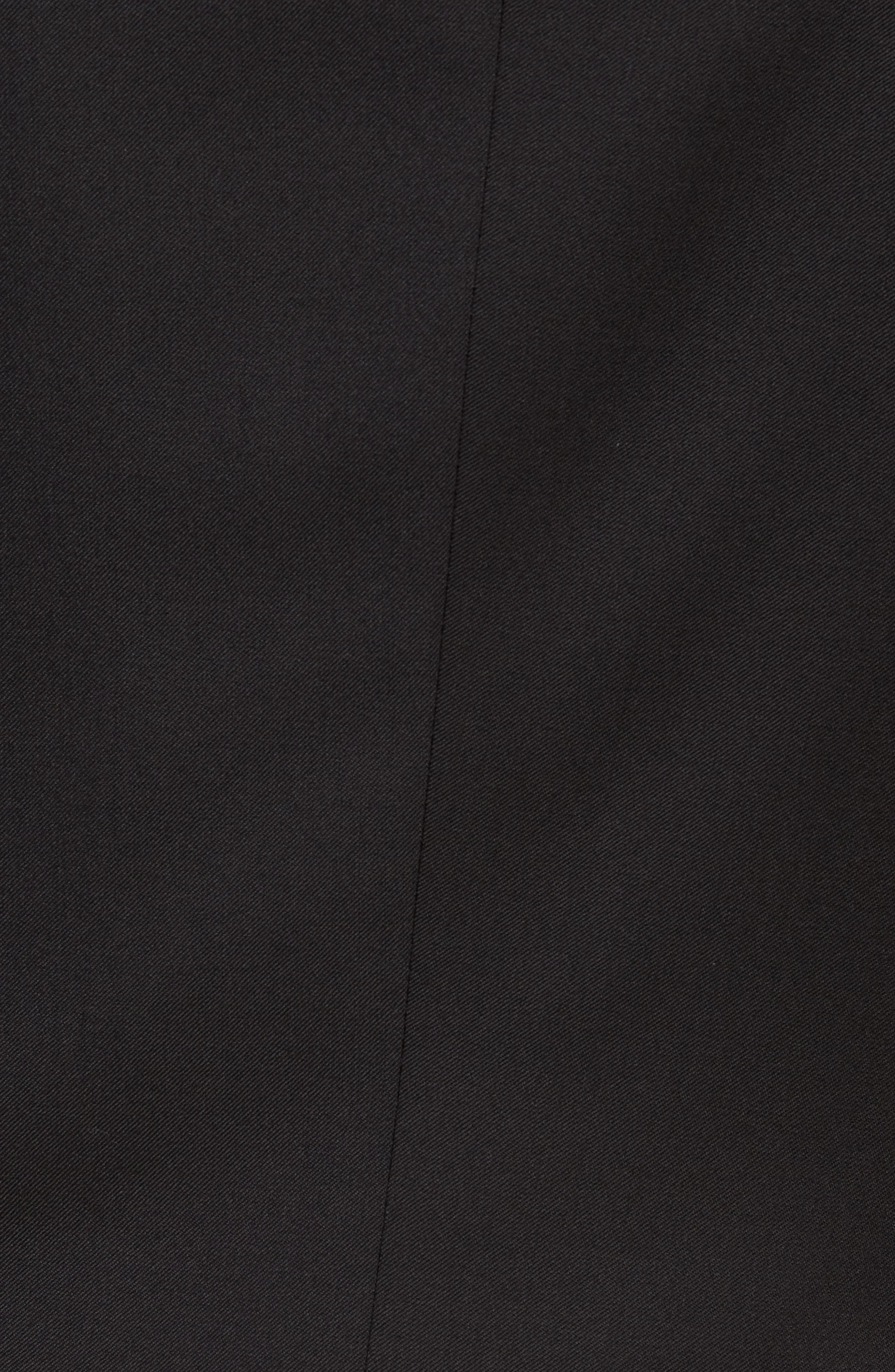 BOSS, Hayes CYL Slim Fit Solid Wool Sport Coat, Alternate thumbnail 6, color, BLACK