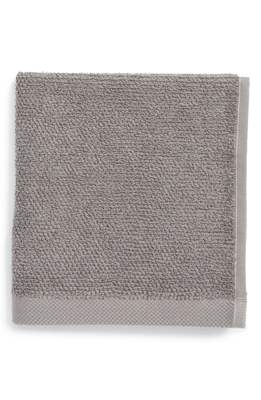 UGG<SUP>®</SUP> Classic Luxe Wash Towel, Main, color, GRANITE