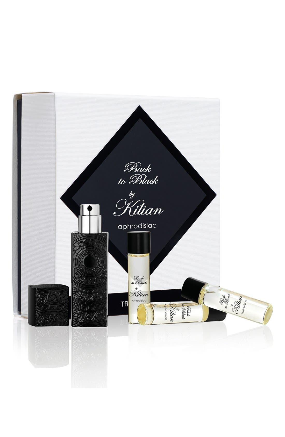 KILIAN, LOeuvre Noire - Back to Black, aphrodisiac Travel Set, Alternate thumbnail 2, color, NO COLOR