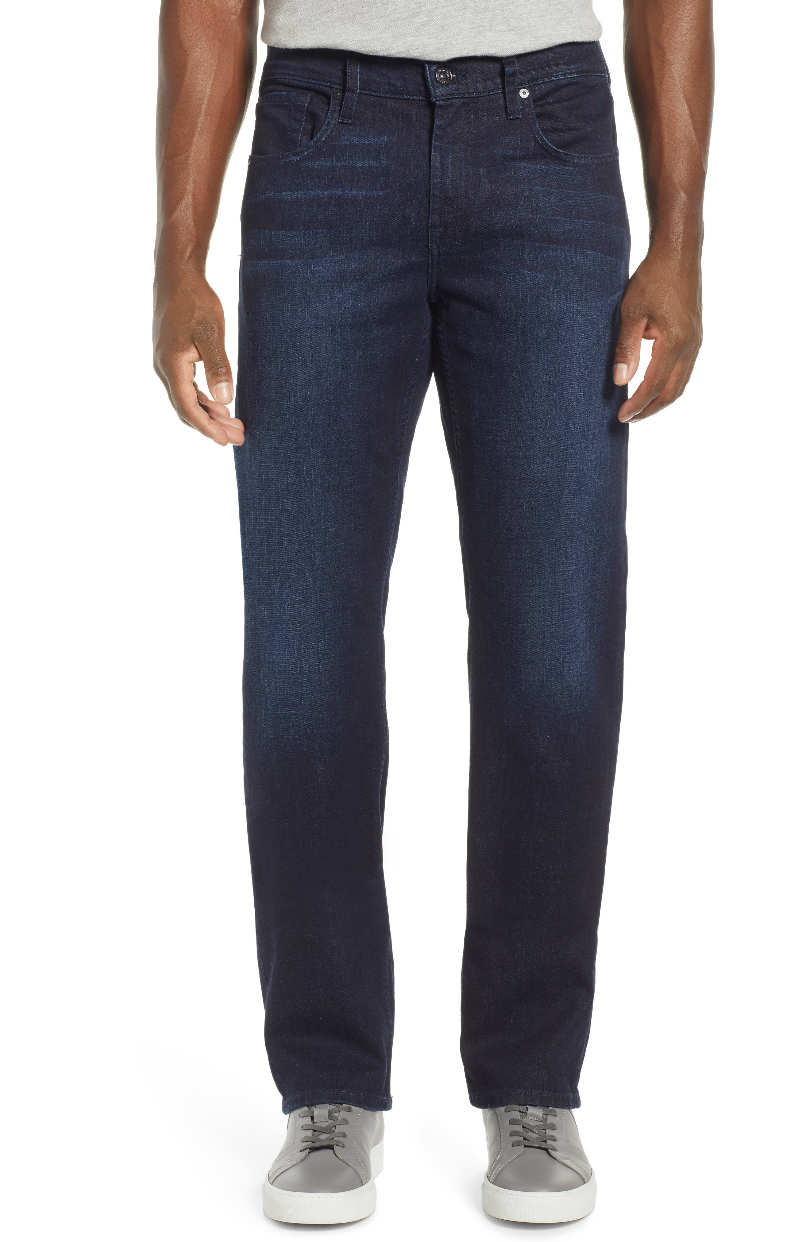 7 FOR ALL MANKIND<SUP>®</SUP>, Carson Straight Fit Jeans, Main thumbnail 1, color, RICHFIELD