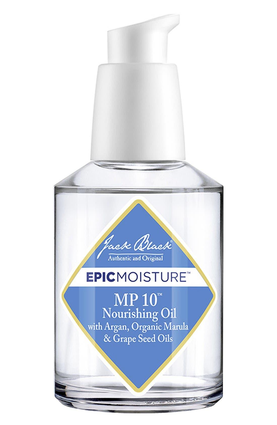 JACK BLACK, Epic Moisture<sup>™</sup> MP 10<sup>™</sup> Nourishing Oil, Main thumbnail 1, color, NO COLOR