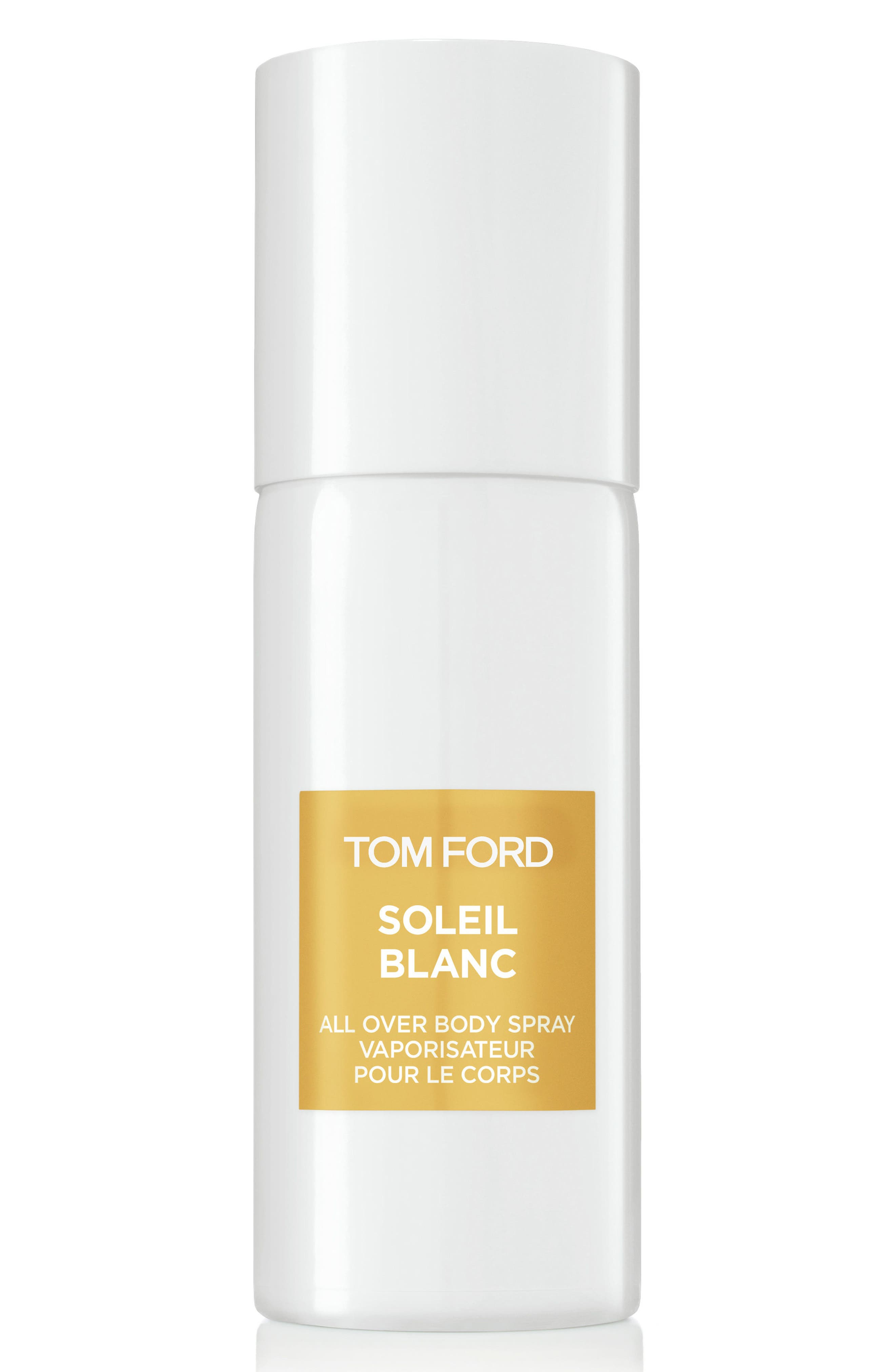 TOM FORD, Private Blend Soleil Blanc All Over Body Spray, Main thumbnail 1, color, NO COLOR