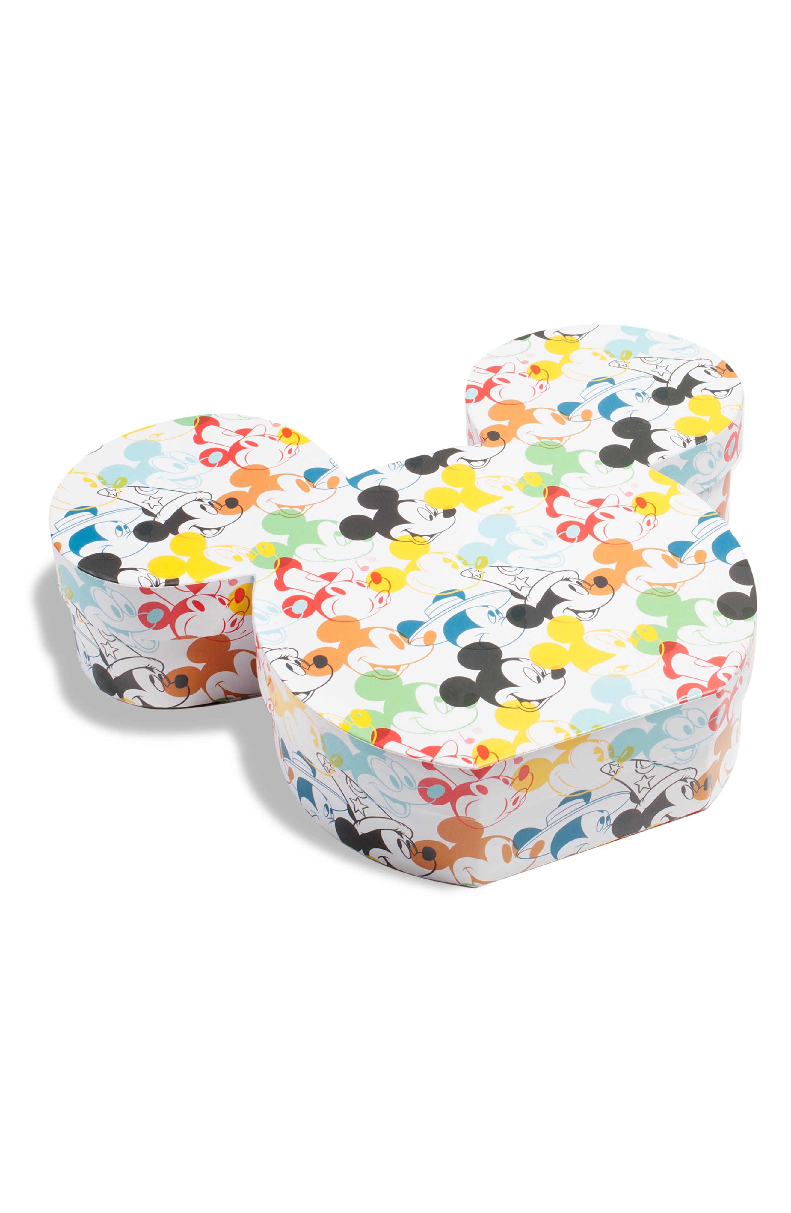 SUGARFINA, x Disney Mickey Ears 2-Piece Bento Box, Alternate thumbnail 4, color, 100