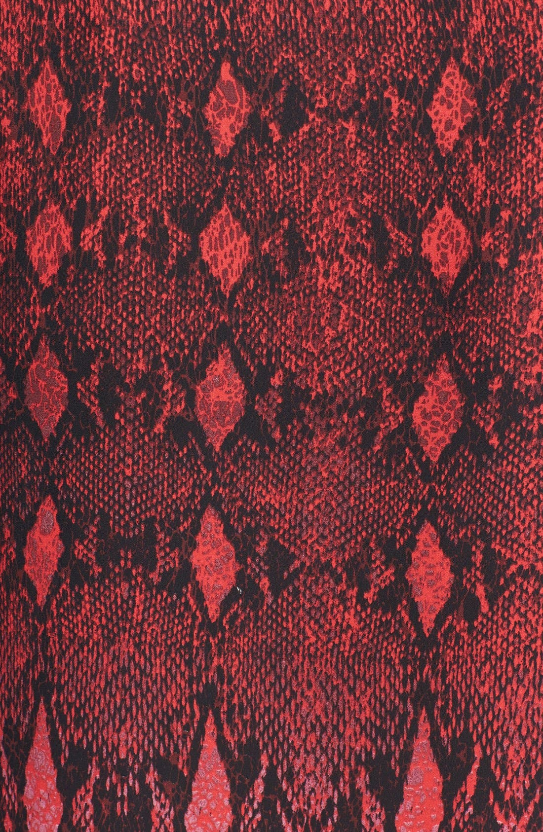BB DAKOTA, 'Vasha' Snakeskin Print Shift Dress, Alternate thumbnail 4, color, 600