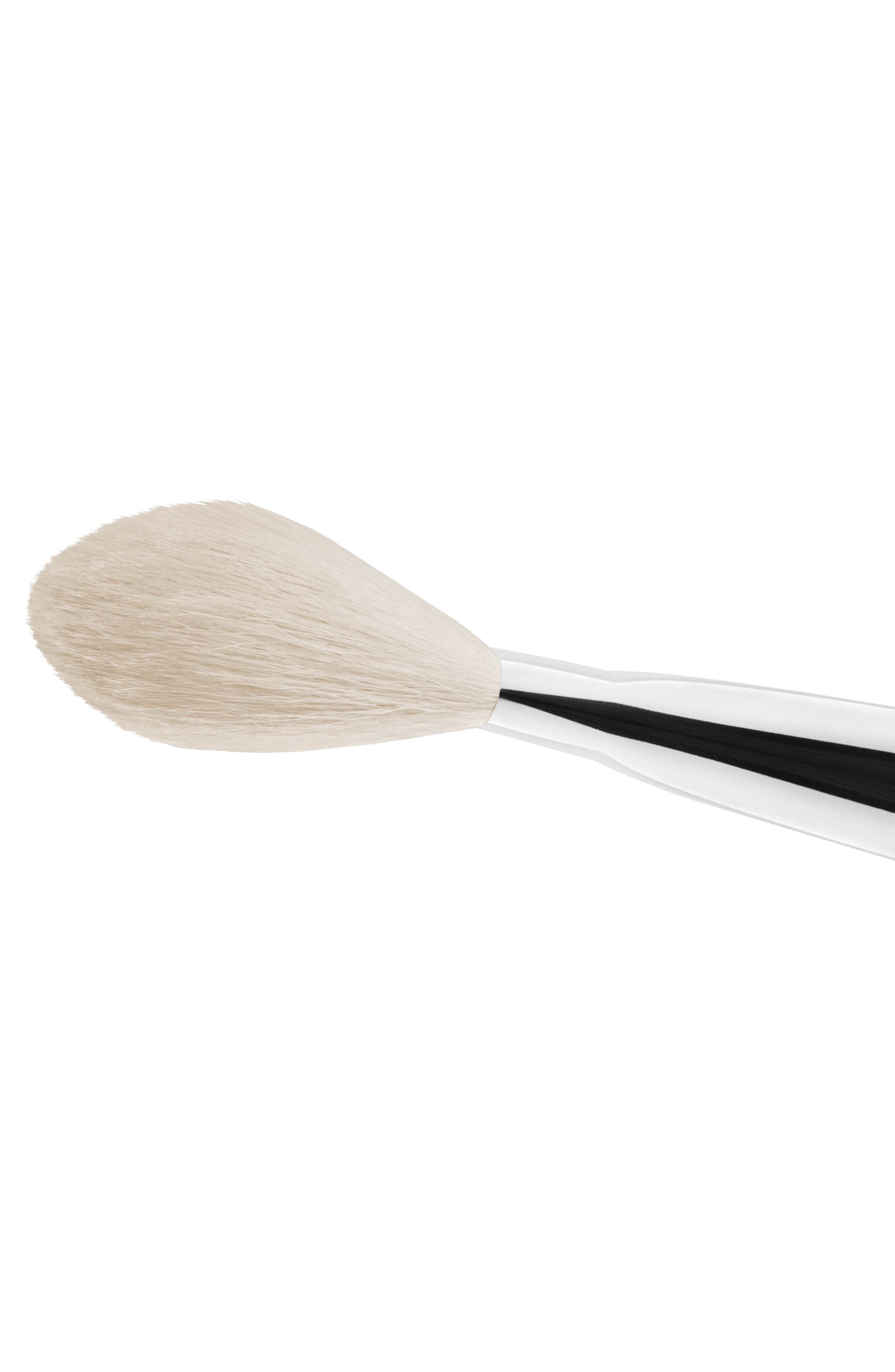 MAC COSMETICS, MAC 135S Synthetic Large Flat Powder Brush, Alternate thumbnail 2, color, 000