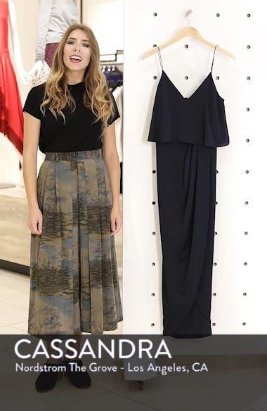 Luxe Frill Tulip Hem Maxi Dress, sales video thumbnail