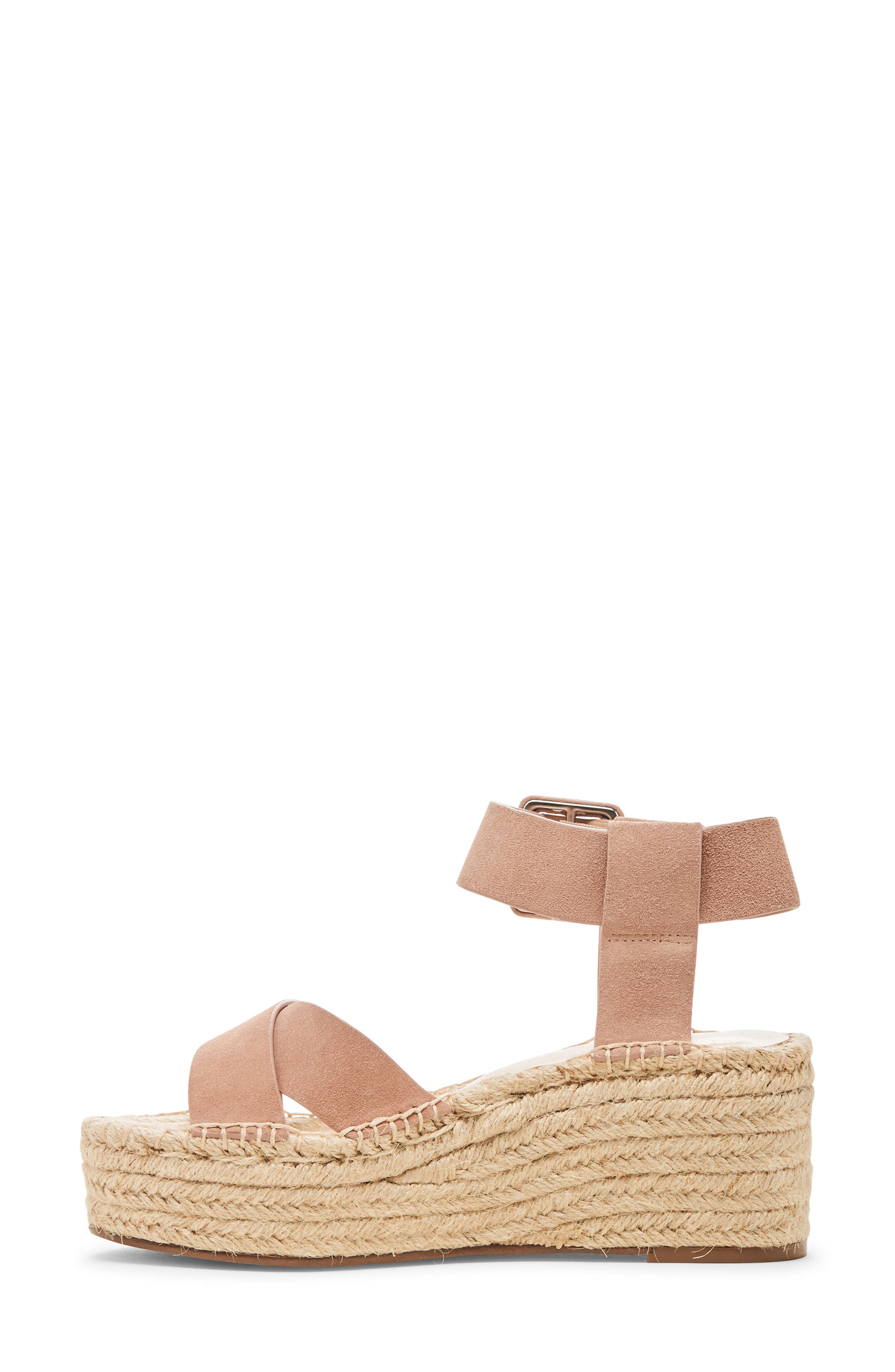 SOLE SOCIETY, Audrina Platform Espadrille Sandal, Alternate thumbnail 9, color, DUSTY ROSE SUEDE