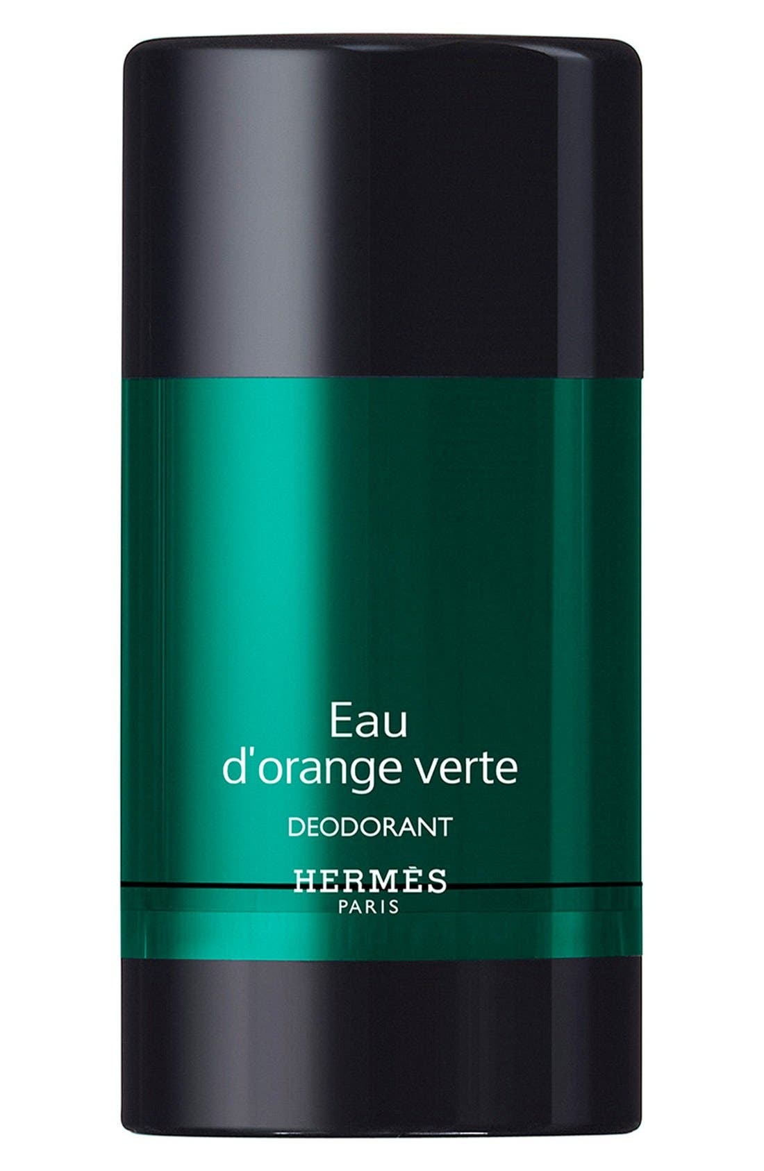 HERMÈS, Eau d'orange verte - Alcohol-free deodorant stick, Main thumbnail 1, color, NO COLOR