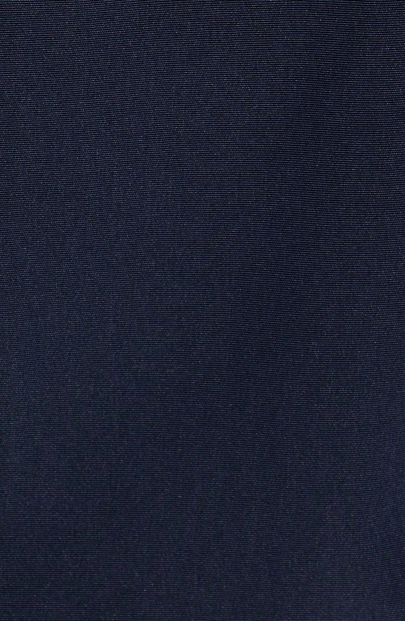 LONDON FOG, Hooded Trench Coat, Alternate thumbnail 7, color, NAVY