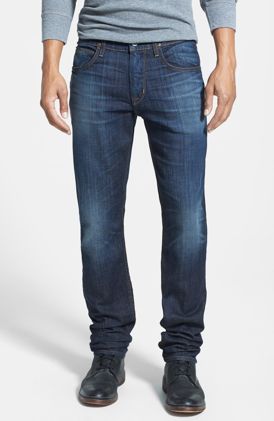 HUDSON JEANS 'Blake' Slim Fit Jeans, Main, color, 409