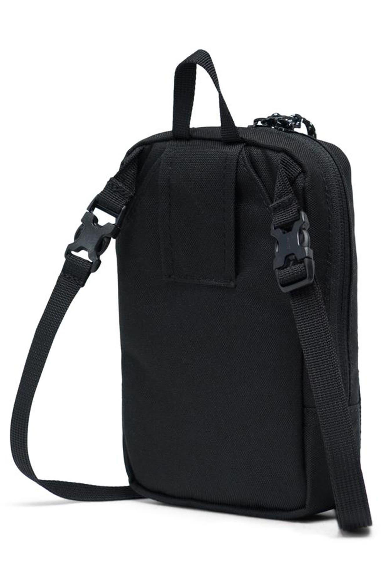 HERSCHEL SUPPLY CO., Large Sinclair Crossbody Bag, Alternate thumbnail 2, color, BLACK