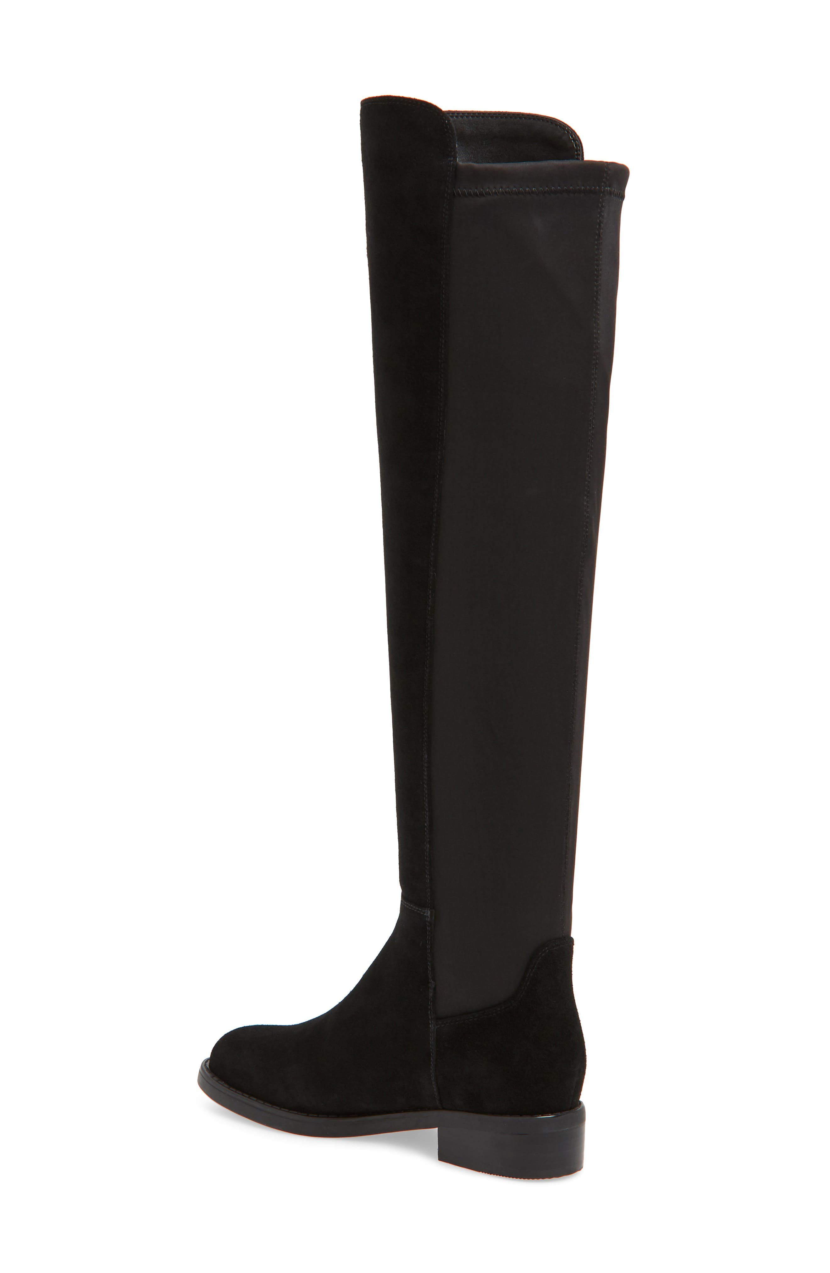 BLONDO, Danny Over the Knee Waterproof Boot, Alternate thumbnail 2, color, 001