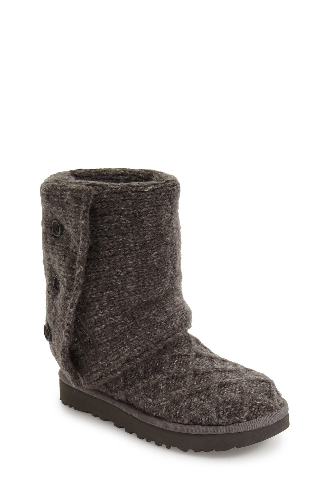 UGG<SUP>®</SUP> Lattice Cardy II Boot, Main, color, 020