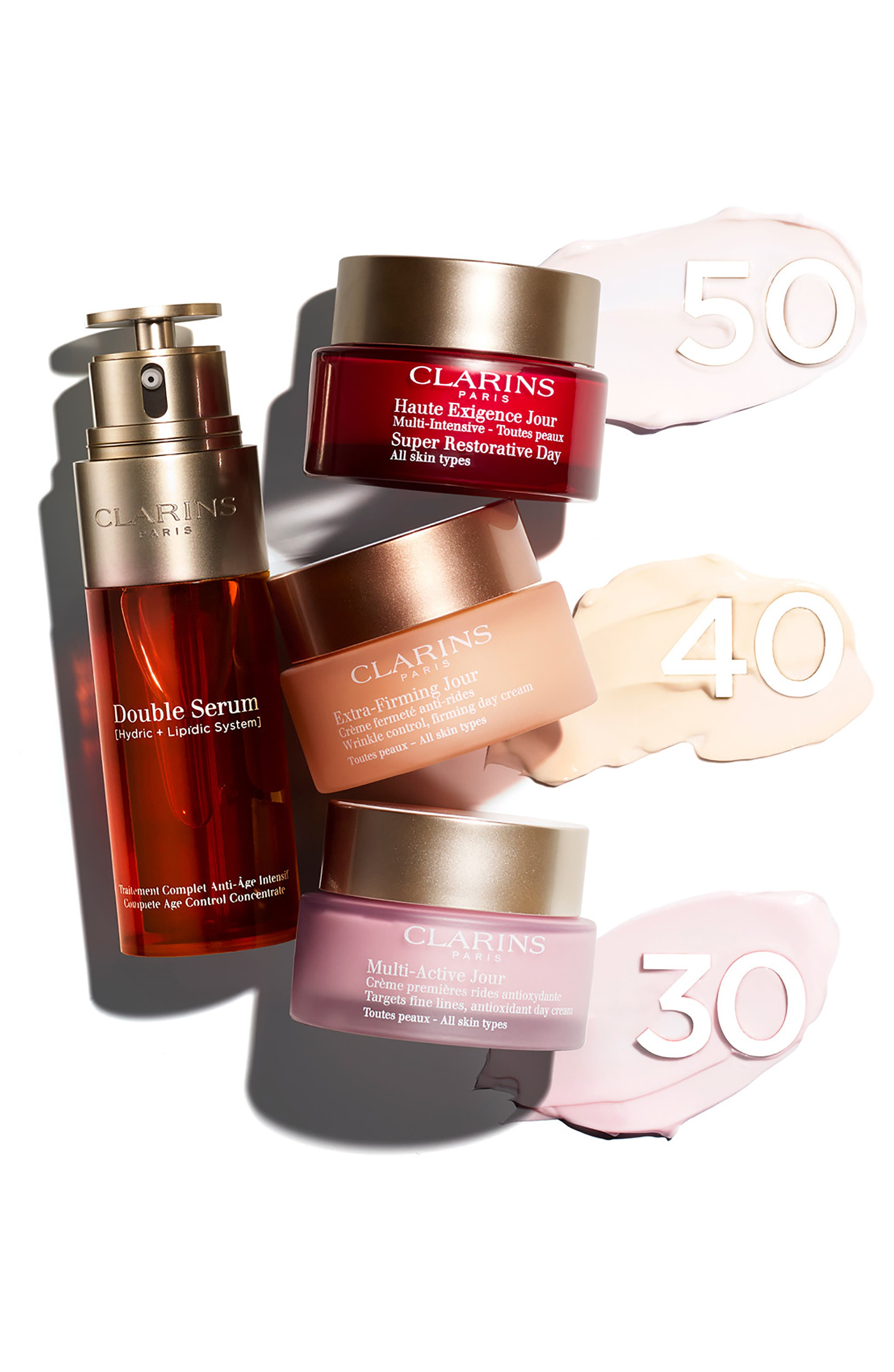 CLARINS, Double Serum Complete Age Control Concentrate, Alternate thumbnail 6, color, NO COLOR