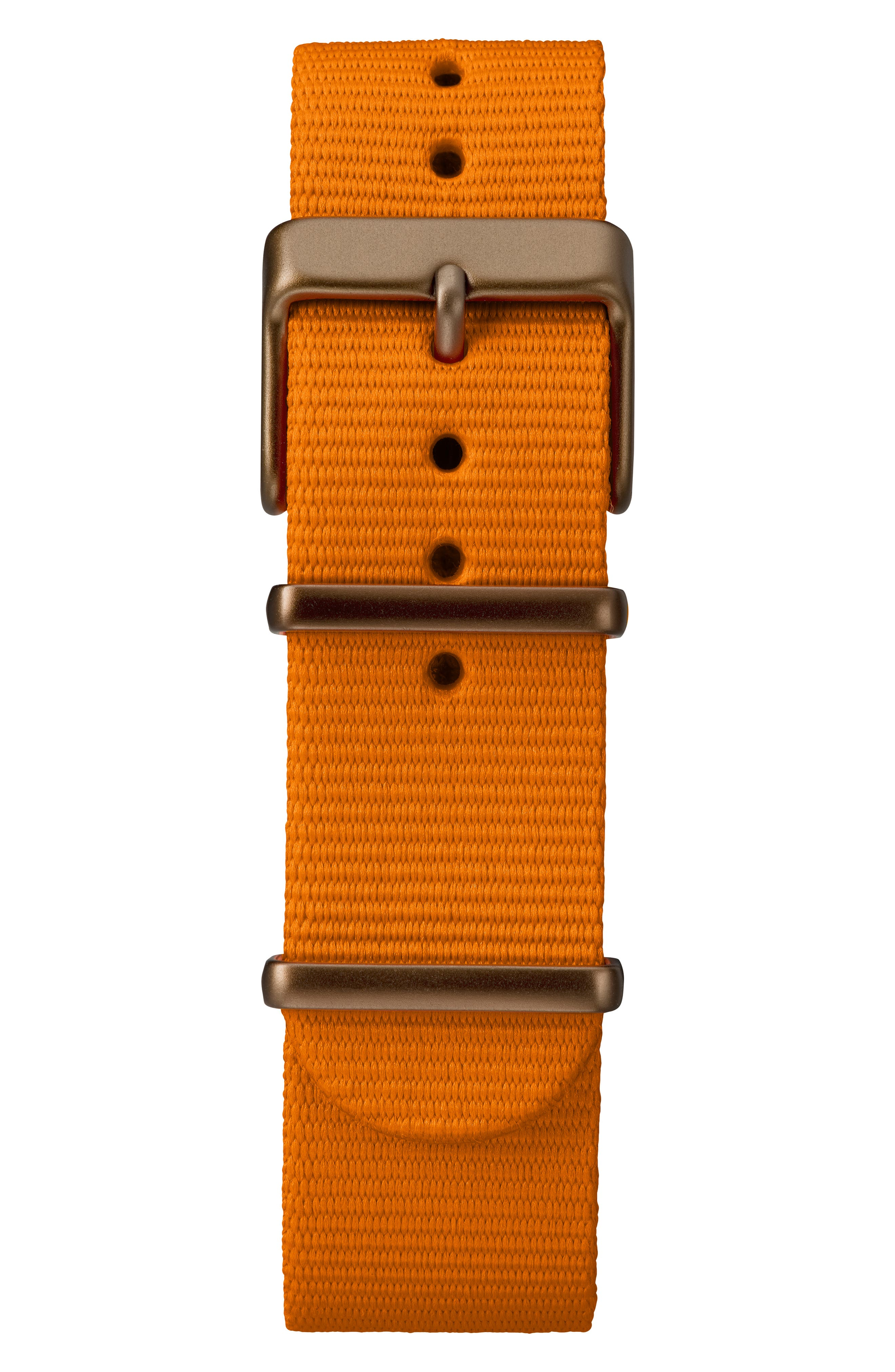 TIMEX<SUP>®</SUP>, MK1 Chronograph Nylon Strap Watch, 40mm, Alternate thumbnail 2, color, ORANGE/ BLACK/ OLIVE