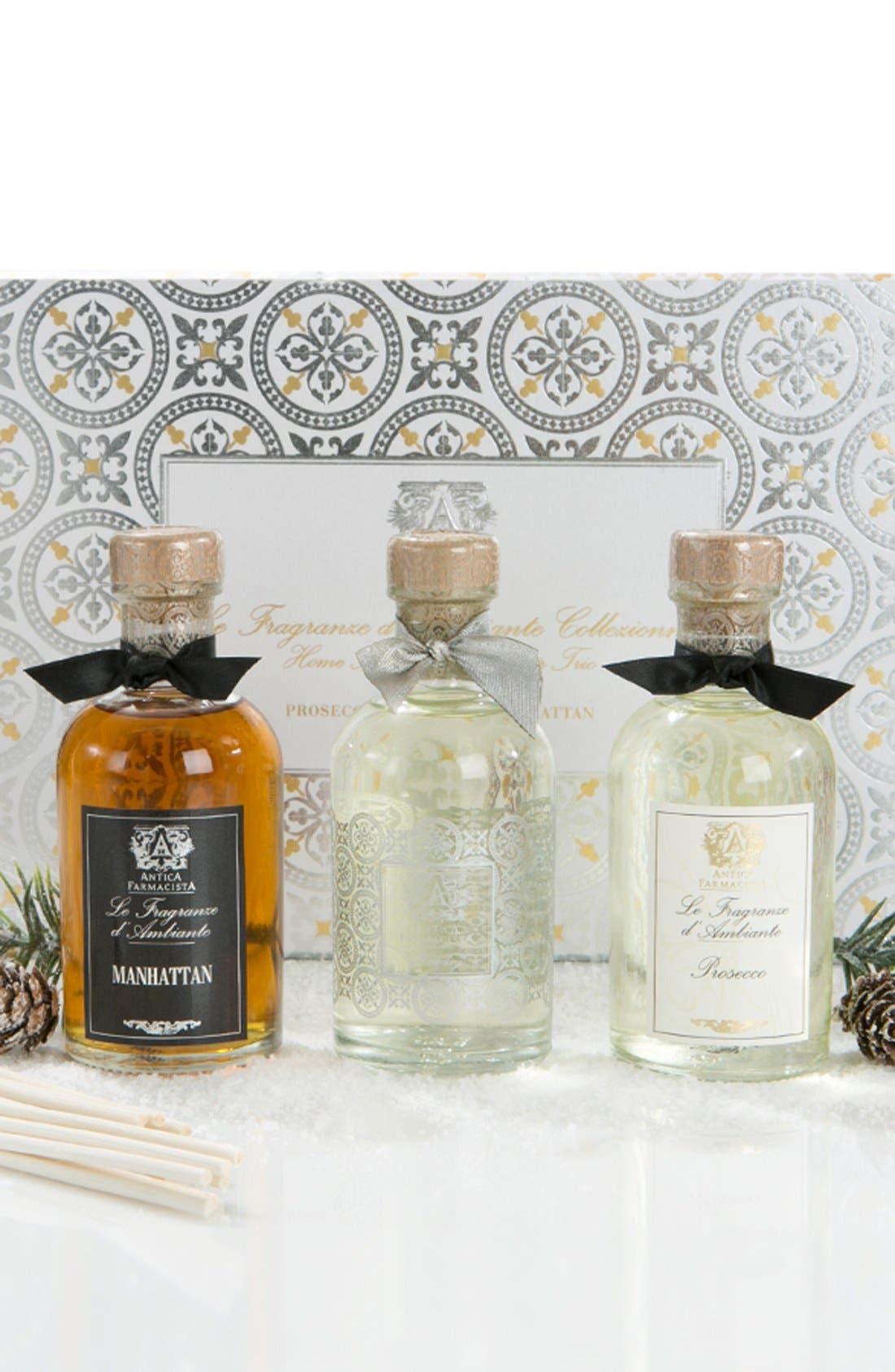 ANTICA FARMACISTA, Home Ambiance Perfume Trio, Alternate thumbnail 2, color, 000
