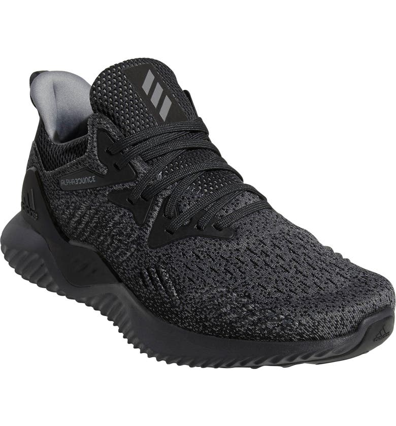 buy online 6e903 443ca ADIDAS AlphaBounce Beyond Knit Running Shoe, Main, color, 099