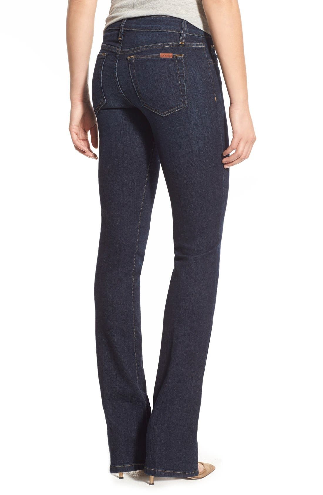 JOE'S, Honey Curvy Bootcut Jeans, Alternate thumbnail 2, color, RIKKI