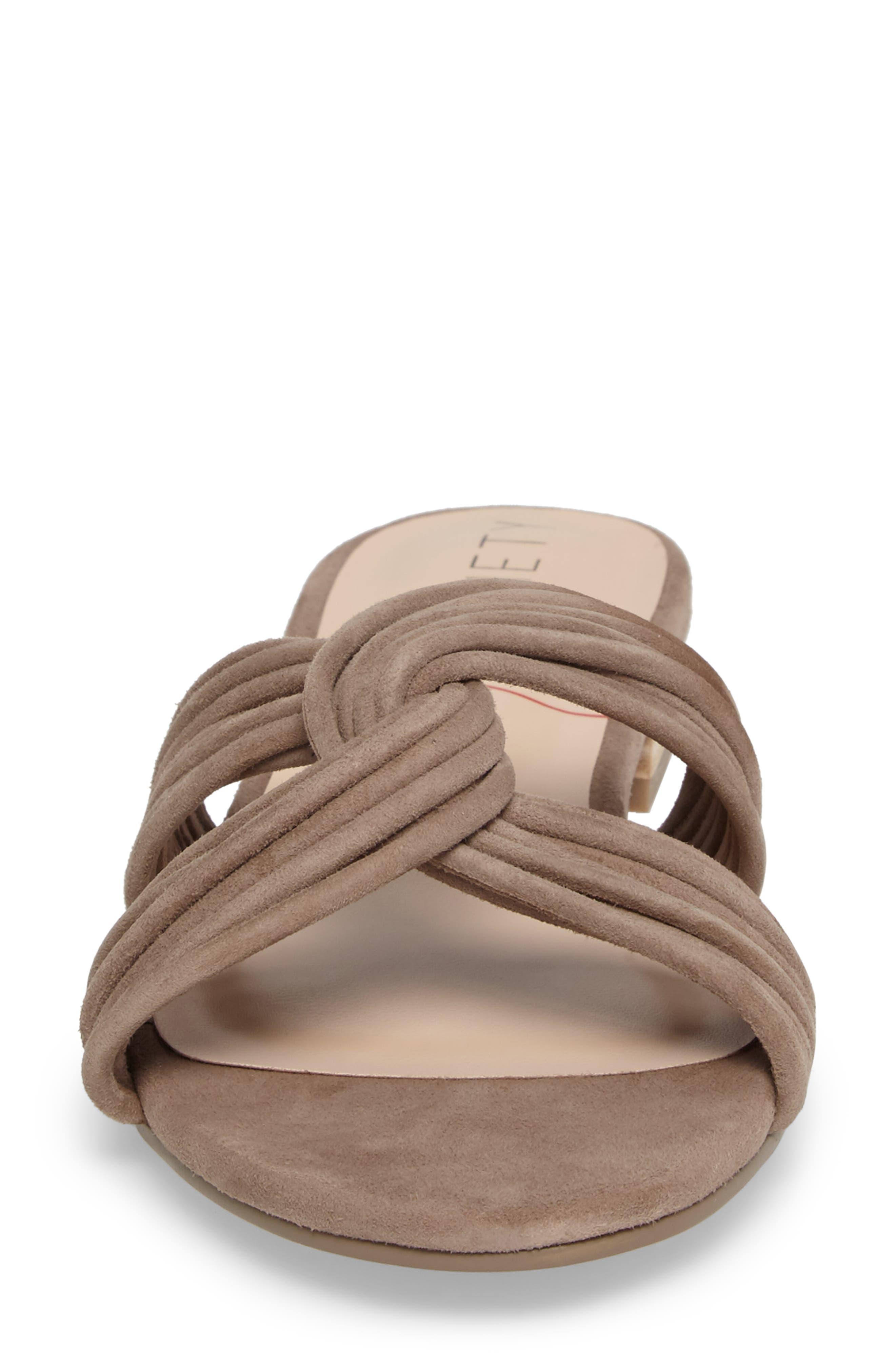 SOLE SOCIETY, Dahlia Flat Sandal, Alternate thumbnail 4, color, 240