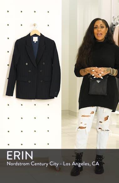 Markina Pinstripe Blazer, sales video thumbnail