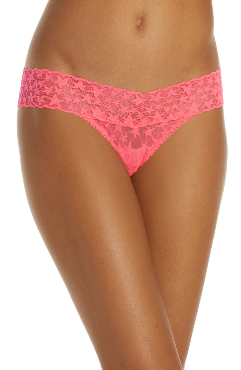 Hanky Panky Tops COSMIC LOW RISE THONG