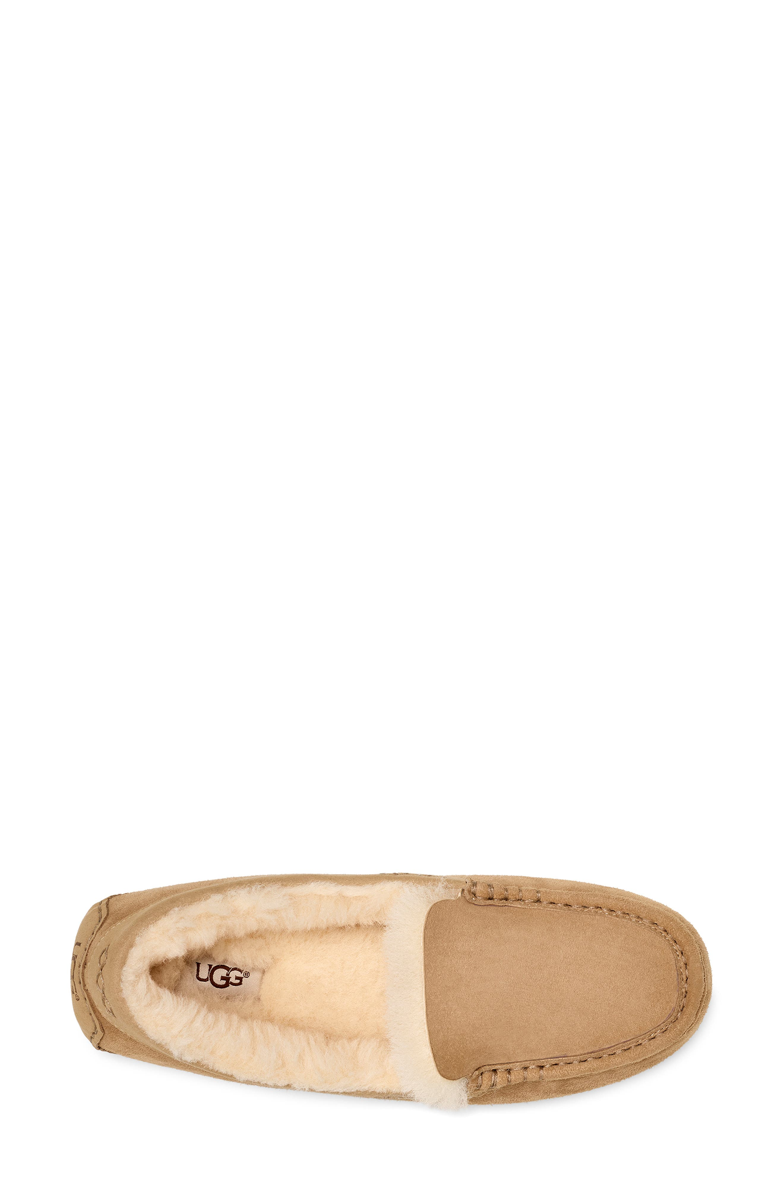 UGG<SUP>®</SUP>, Ansley 40:40:40 Anniversary Slipper, Alternate thumbnail 4, color, SAND