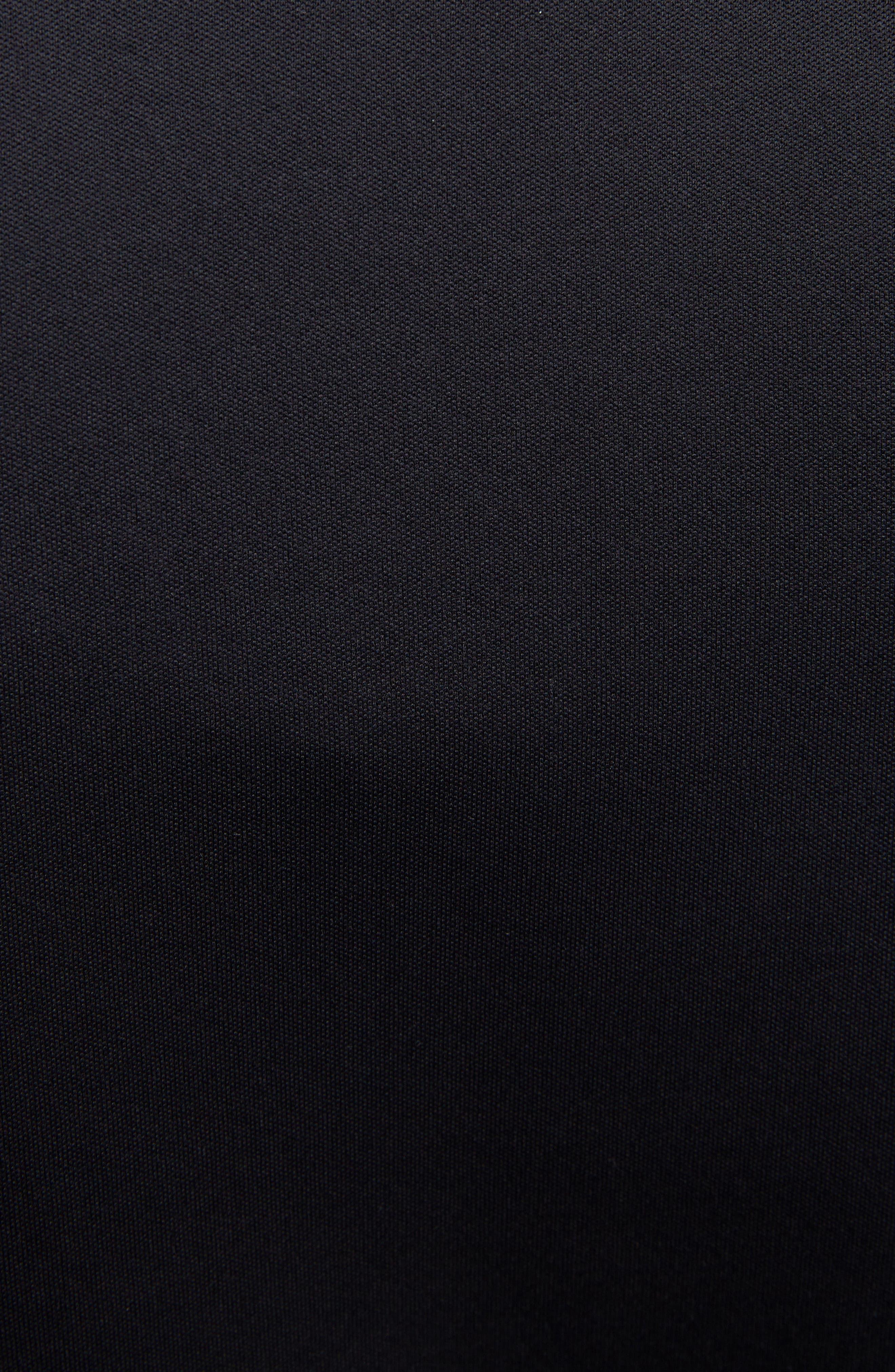 KENZO, Zip Track Jacket, Alternate thumbnail 5, color, BLACK