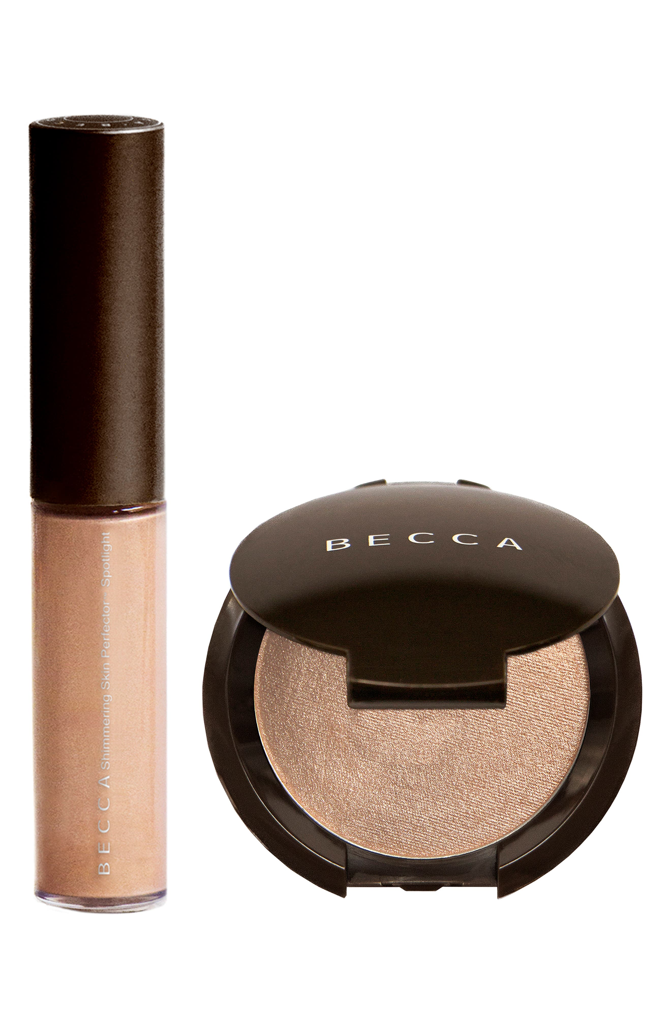 BECCA COSMETICS, BECCA Glow on the Go Highlighter Set, Main thumbnail 1, color, OPAL