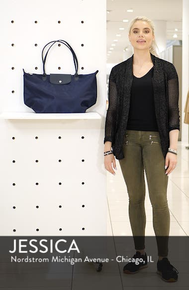 'Large Le Pliage Neo' Nylon Tote, sales video thumbnail