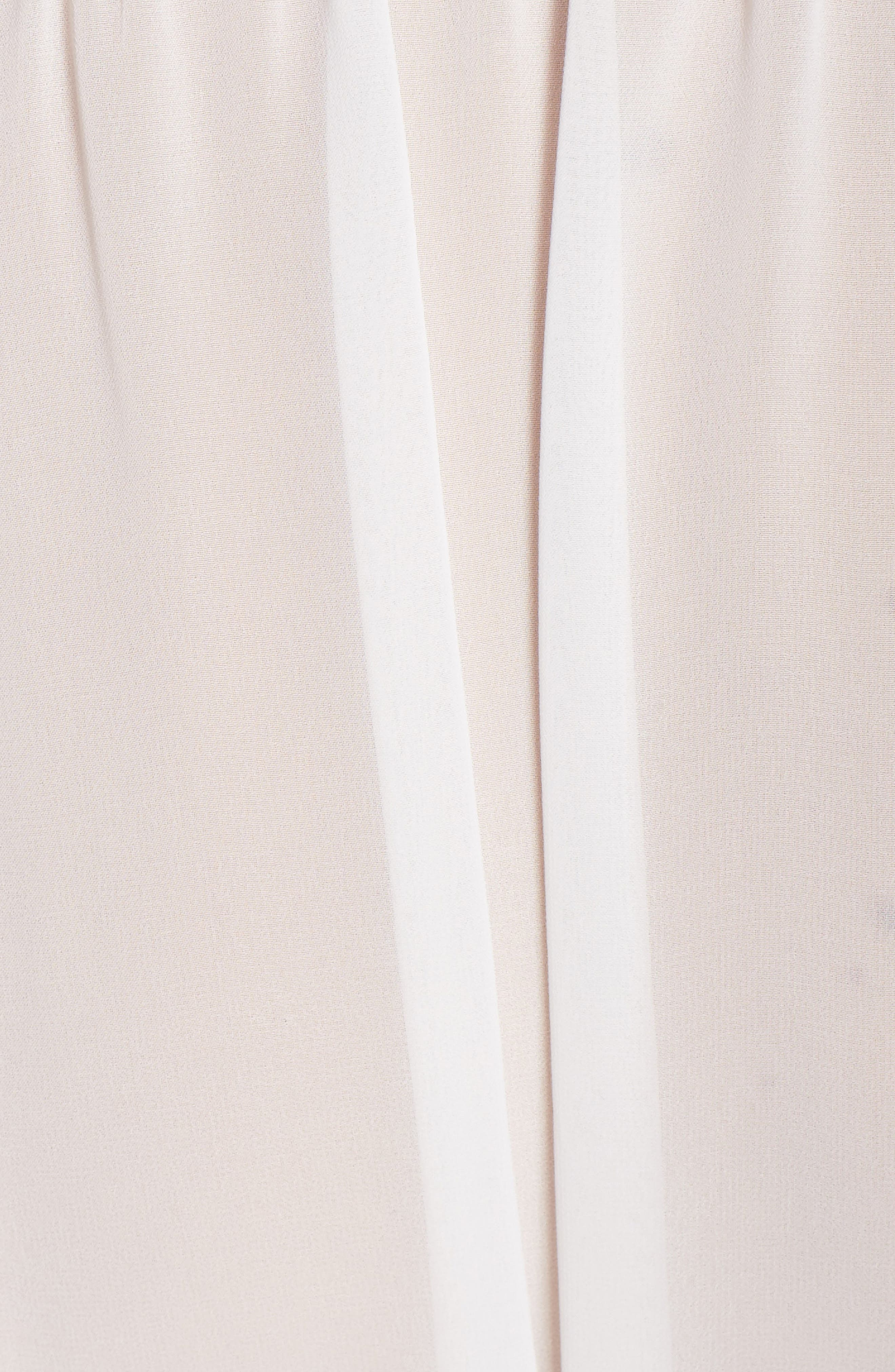 IN BLOOM BY JONQUIL, Chiffon Robe, Alternate thumbnail 5, color, IVORY