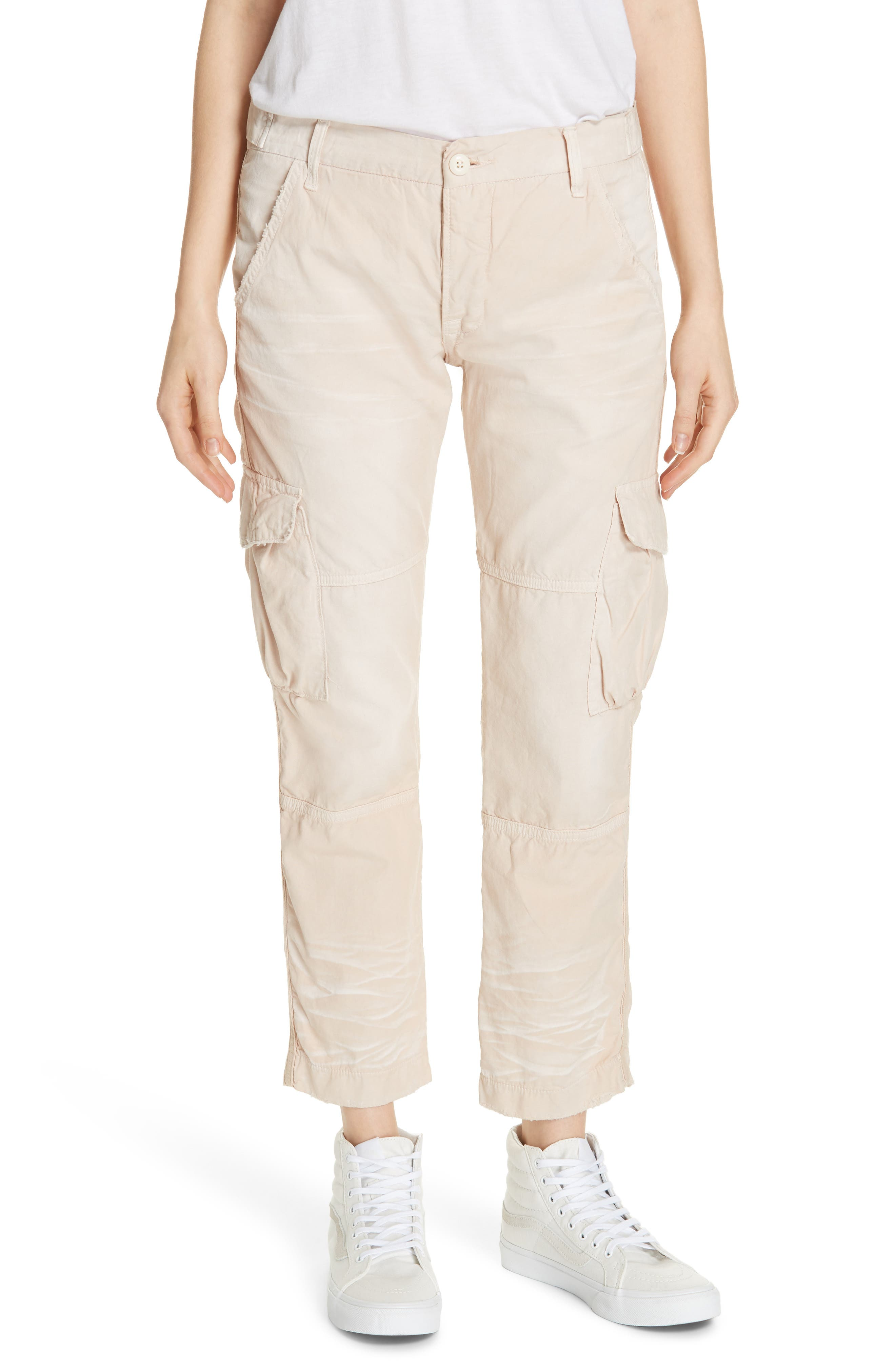 Nsf Clothing Basquiat Cargo Pants, Beige