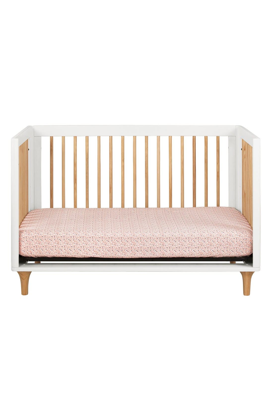 BABYLETTO, 'Lolly' 3-in-1 Convertible Crib, Alternate thumbnail 5, color, 250
