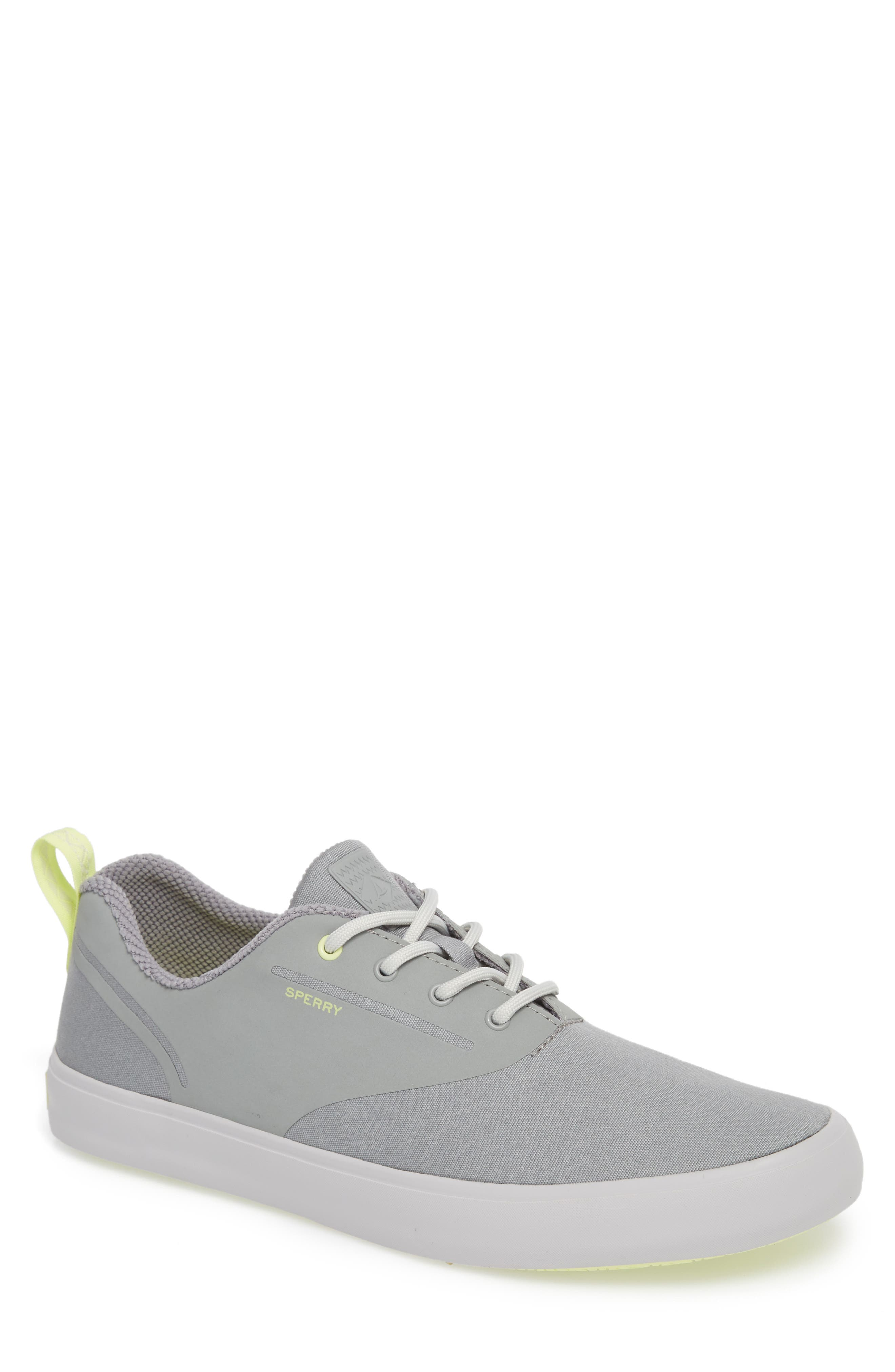 SPERRY, Flex Deck CVO Sneaker, Main thumbnail 1, color, GREY