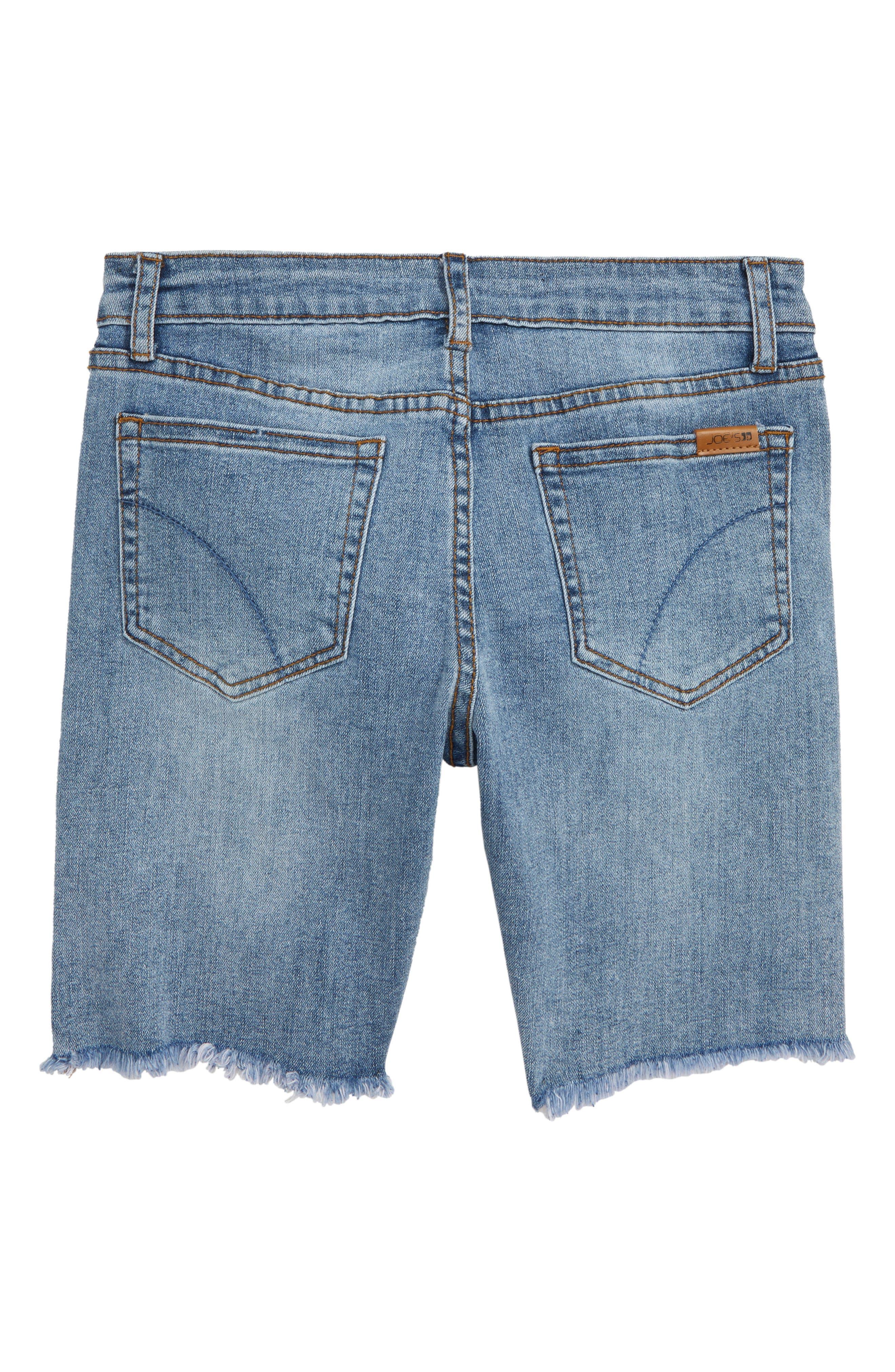 JOE'S, The Finn Cutoff Denim Bermuda Shorts, Alternate thumbnail 2, color, THOMPSON