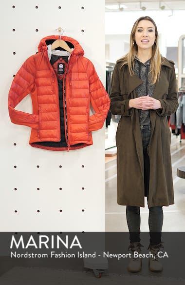 'Hybridge Lite' Slim Fit Hooded Packable Down Jacket, sales video thumbnail