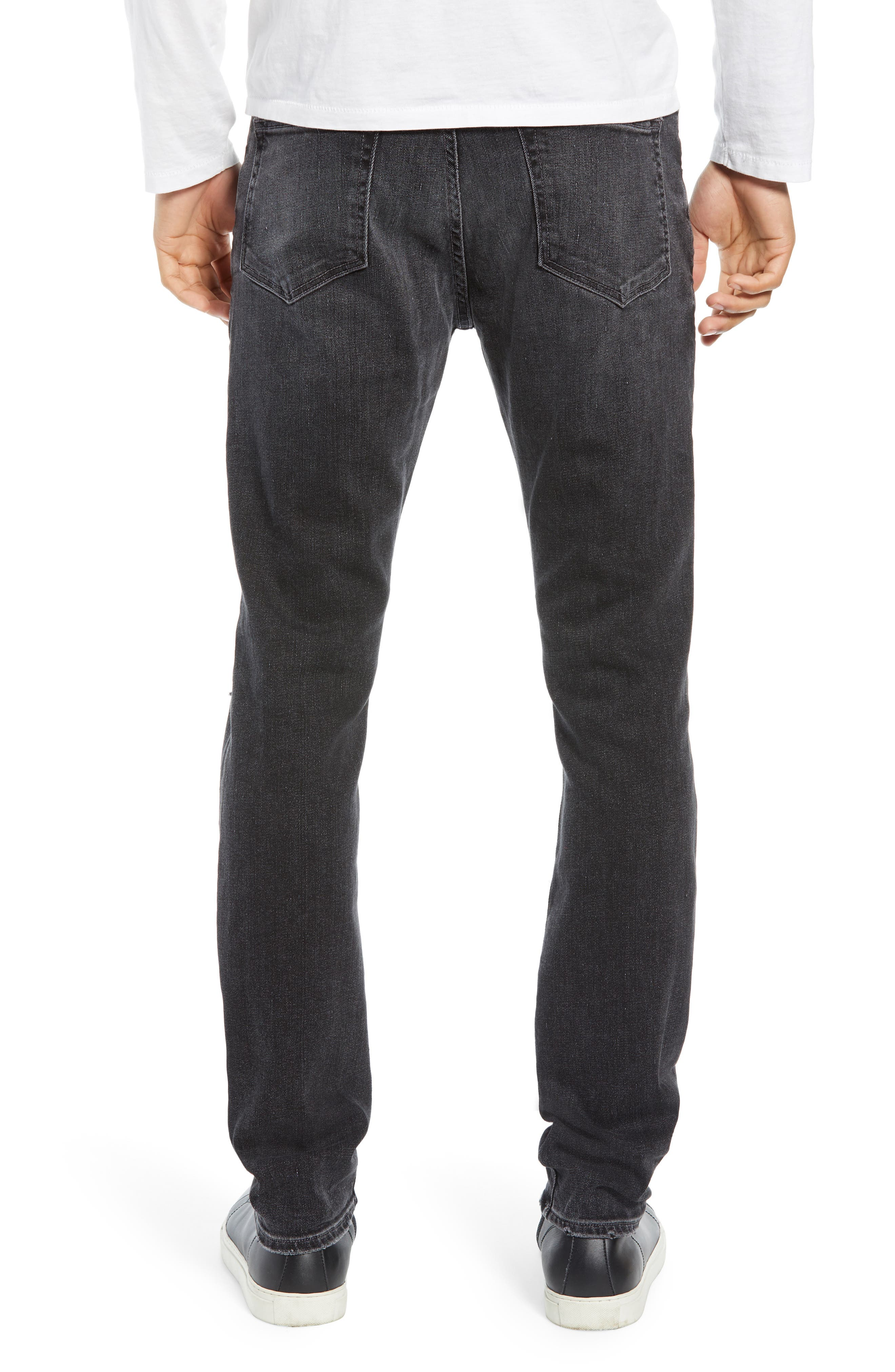 FRAME, L'Homme Slim Fit Jeans, Alternate thumbnail 2, color, HUBBELL