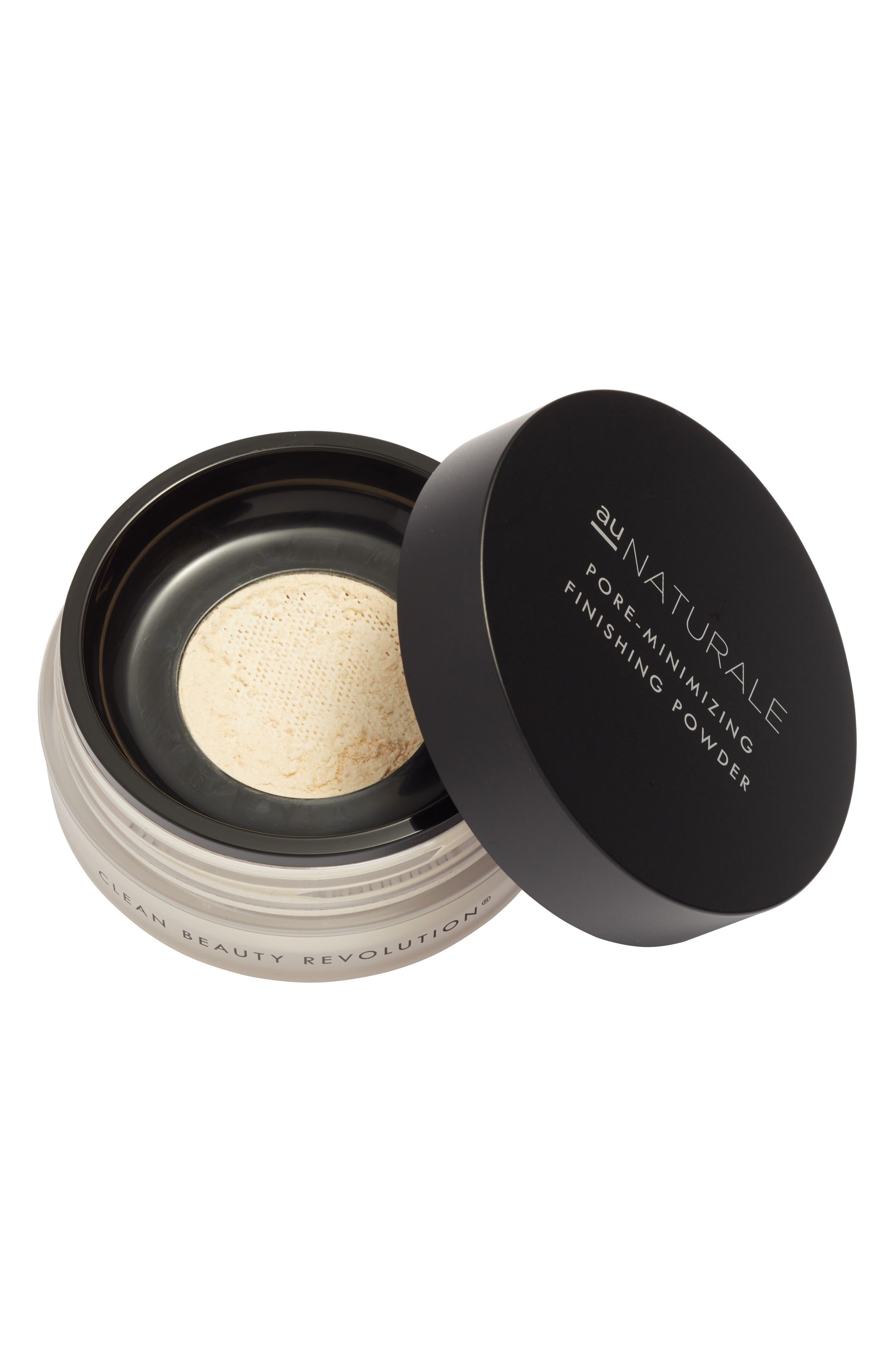 AU NATURALE, Pore Minimizing Finishing Powder, Main thumbnail 1, color, WHITE