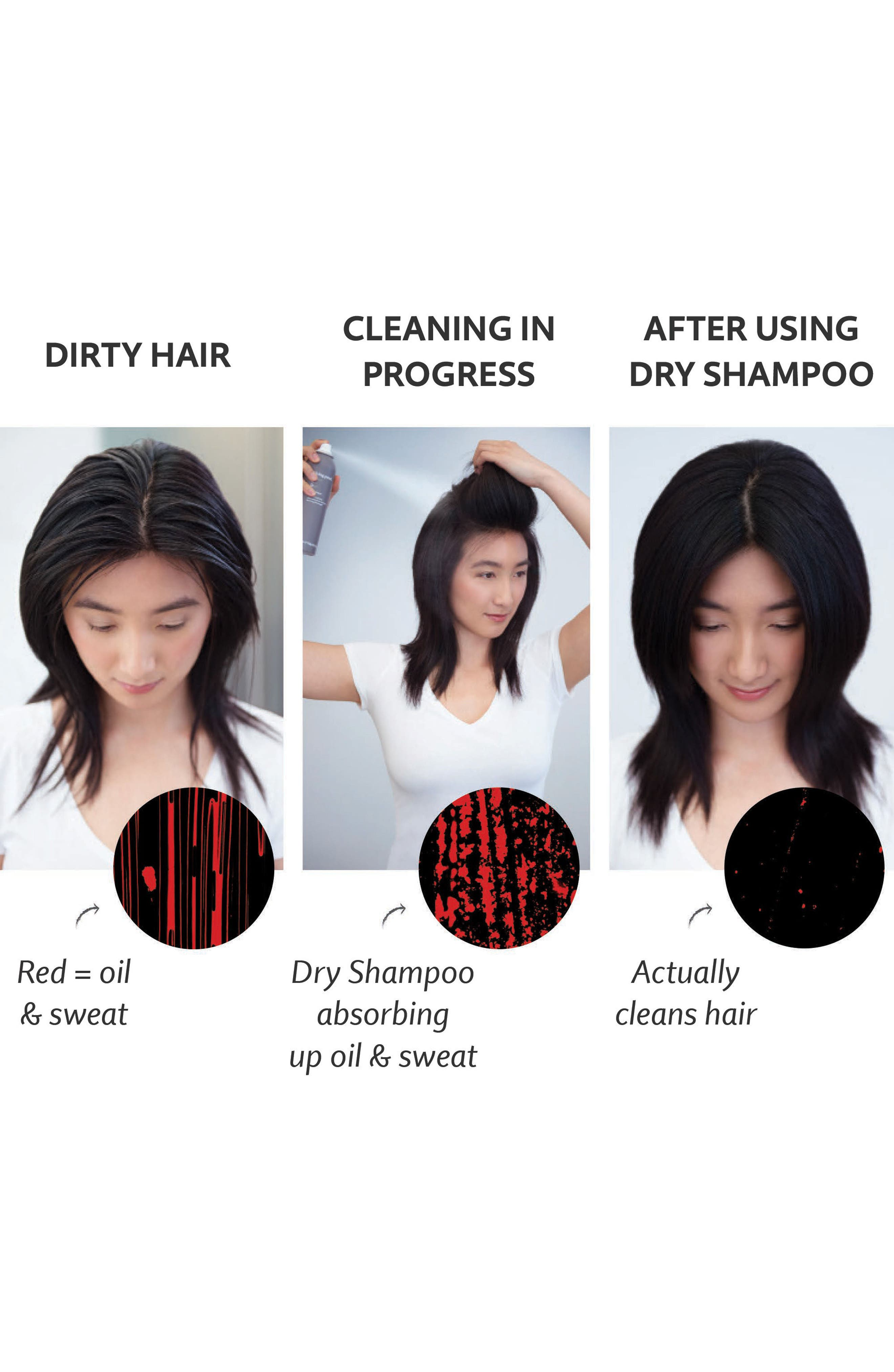 LIVING PROOF<SUP>®</SUP>, Perfect hair Day<sup>™</sup> Dry Shampoo, Alternate thumbnail 4, color, NO COLOR