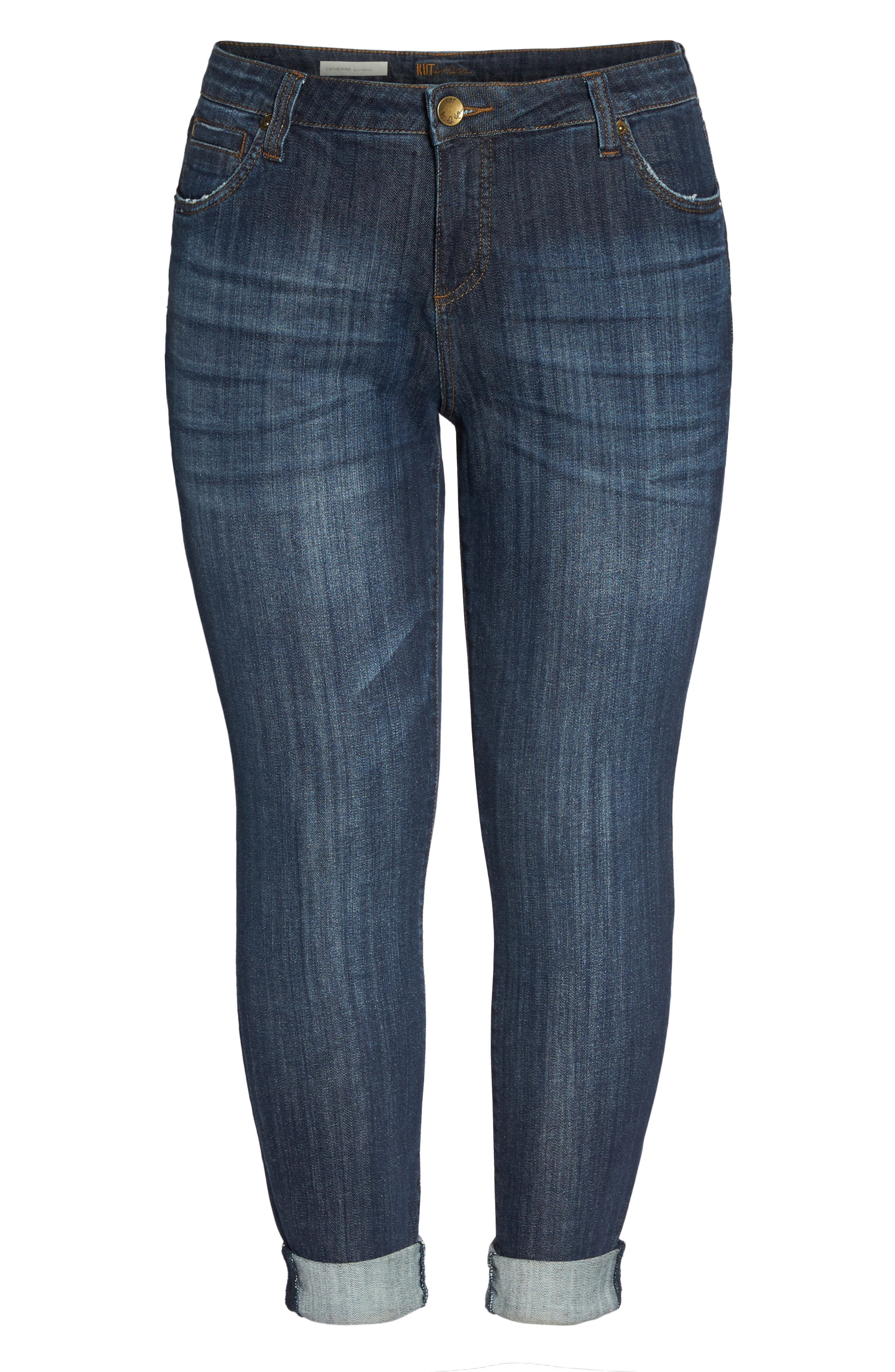 KUT FROM THE KLOTH, Catherine Boyfriend Jeans, Alternate thumbnail 7, color, 489