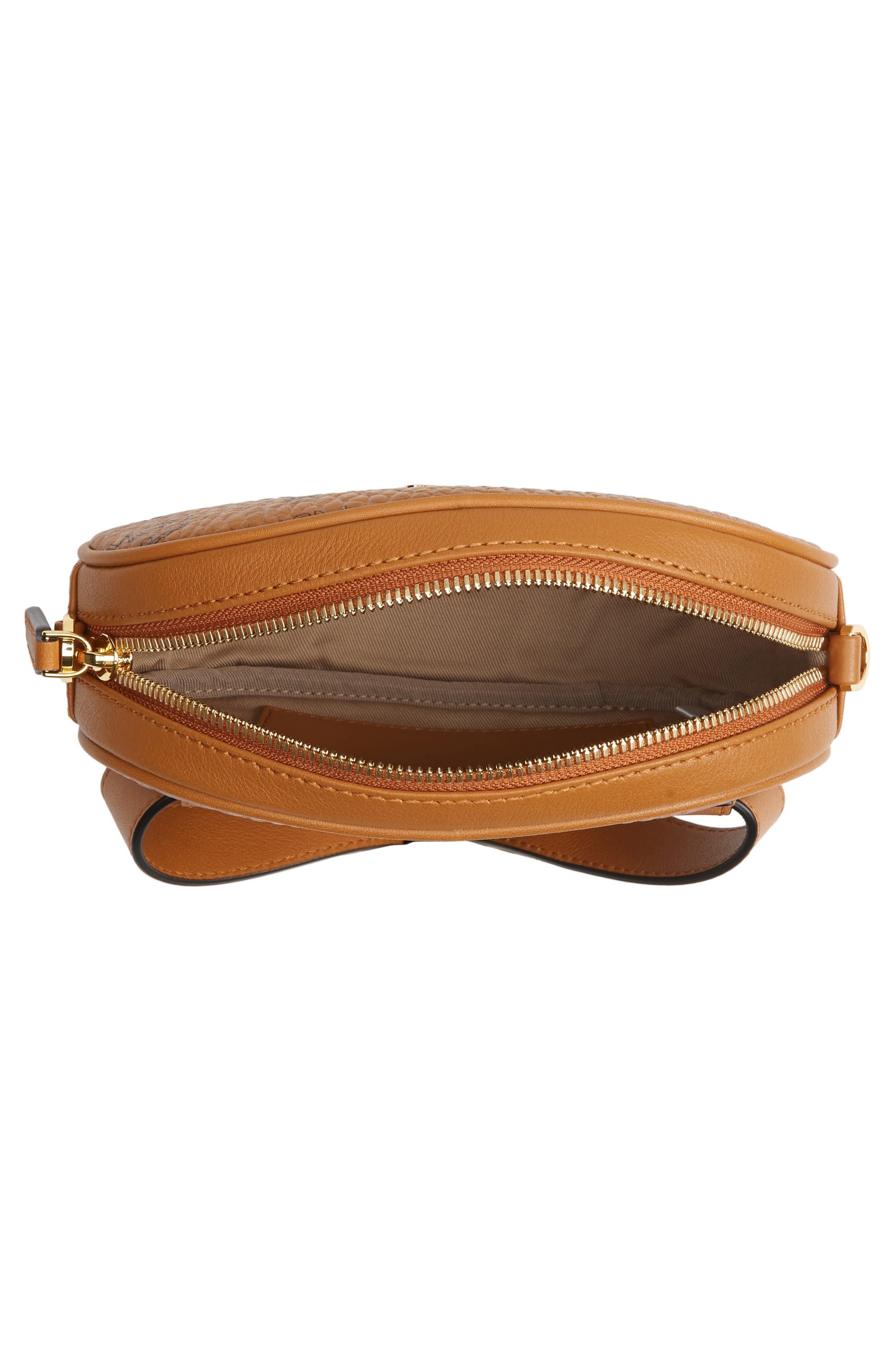 MCM, Essential Convertible Belt Bag, Alternate thumbnail 6, color, COGNAC