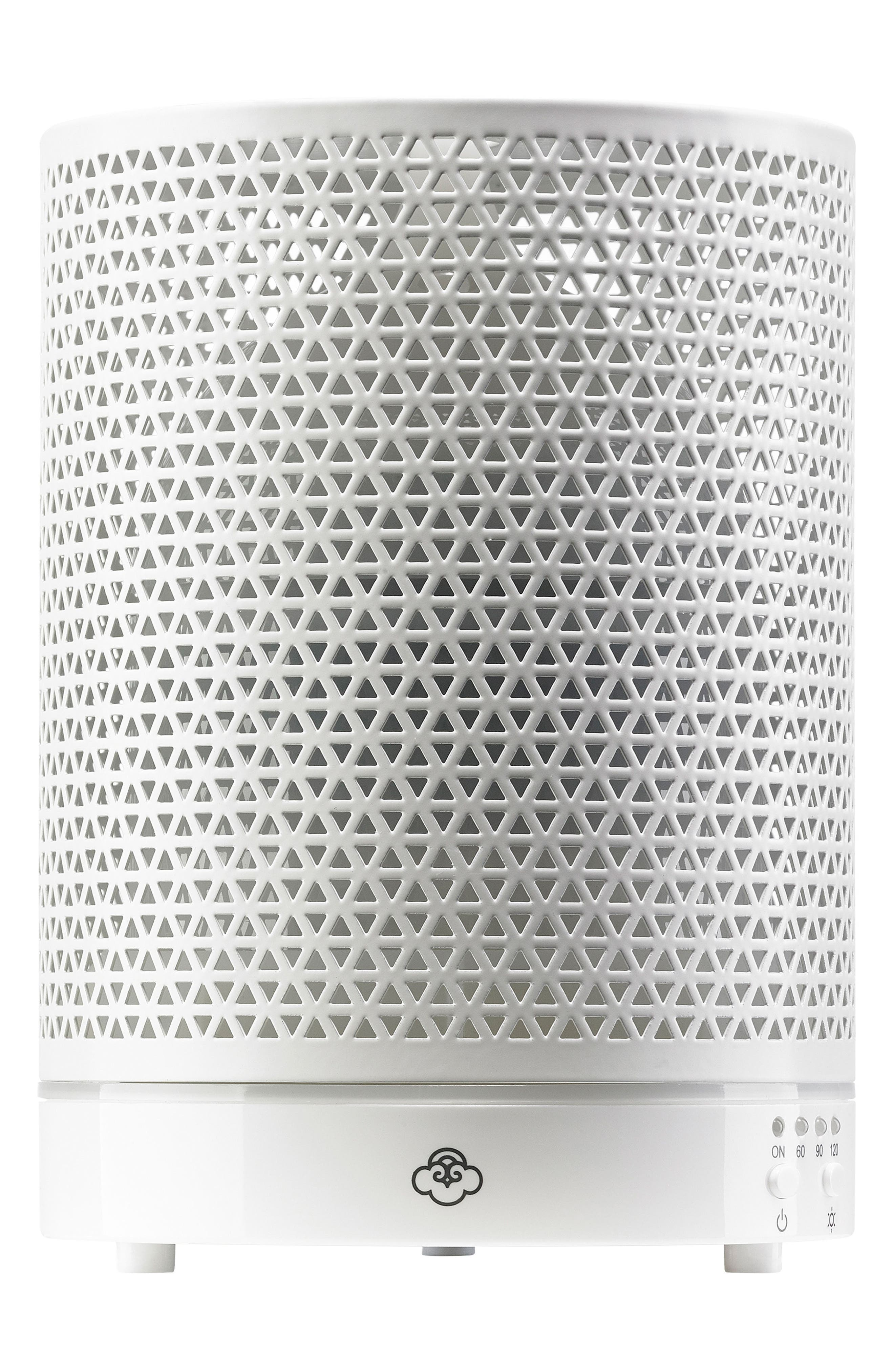 SERENE HOUSE Asterism Electric Aromatherapy Diffuser, Main, color, WHITE