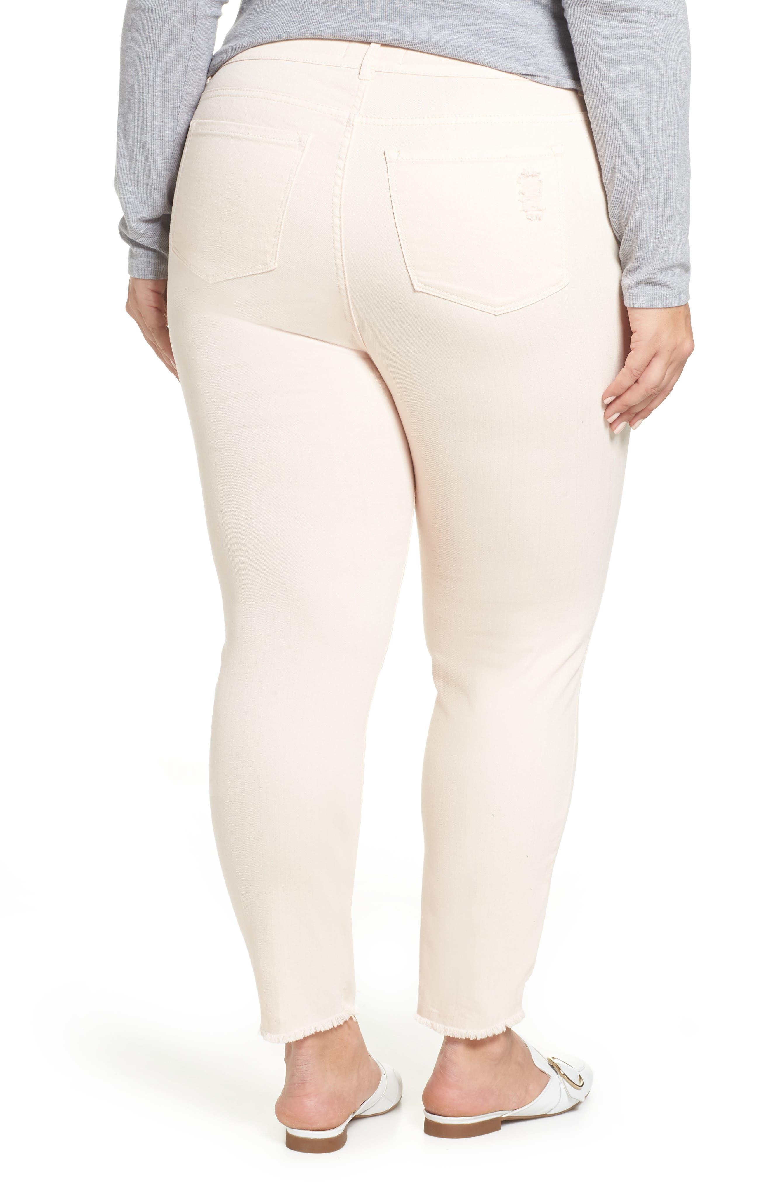 RACHEL RACHEL ROY, Icon Distressed Skinny Jeans, Alternate thumbnail 2, color, 680