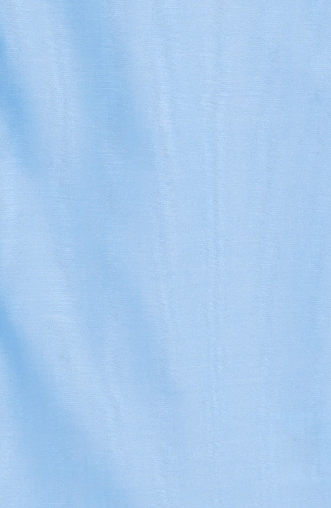 NORDSTROM, Cotton Poplin Dress Shirt, Alternate thumbnail 2, color, BLUE SMART