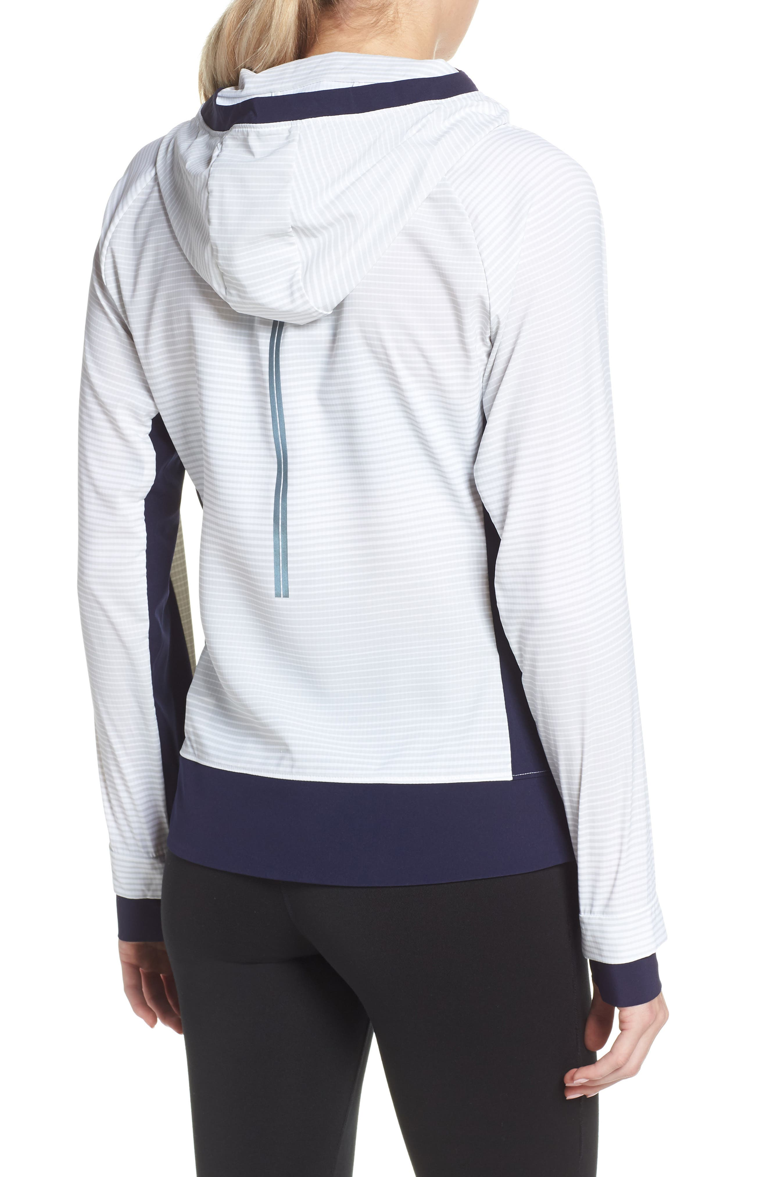 BROOKS, Canopy SE Reflective Running Jacket, Alternate thumbnail 2, color, 406