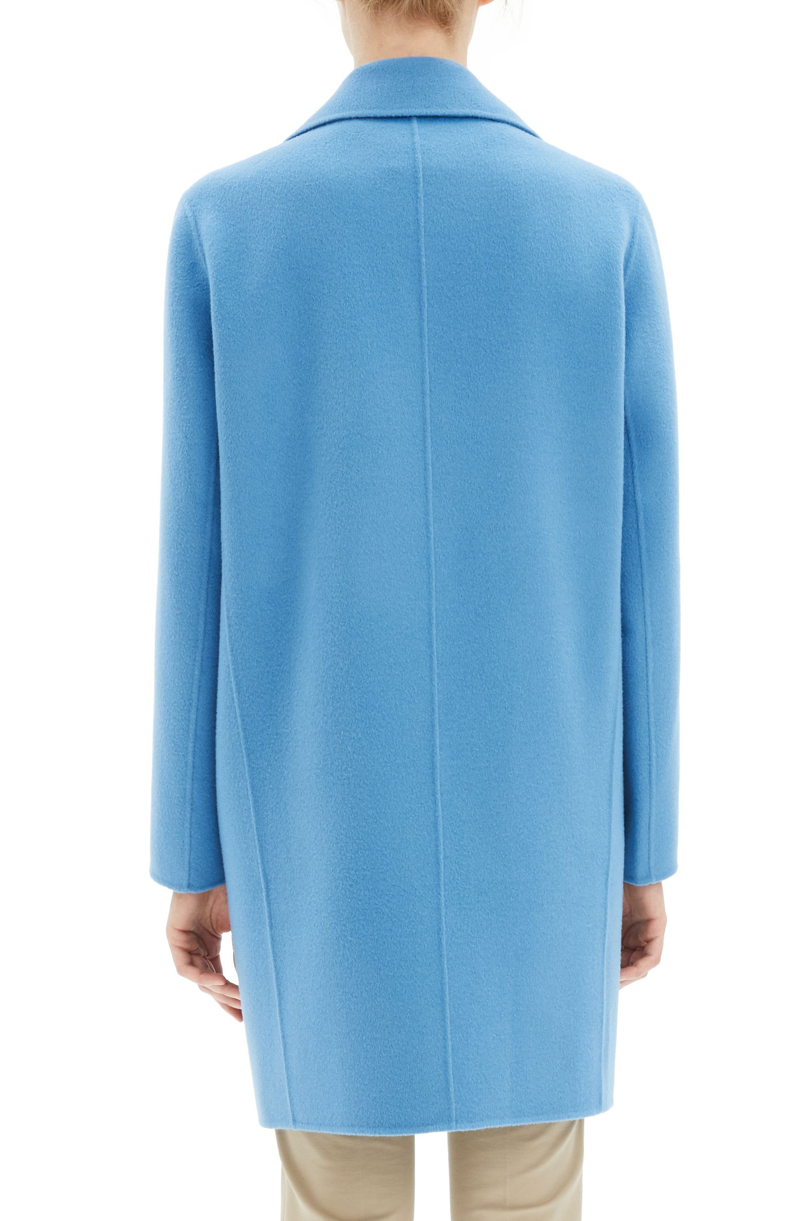 THEORY, Wool & Cashmere Boy Coat, Alternate thumbnail 2, color, 488